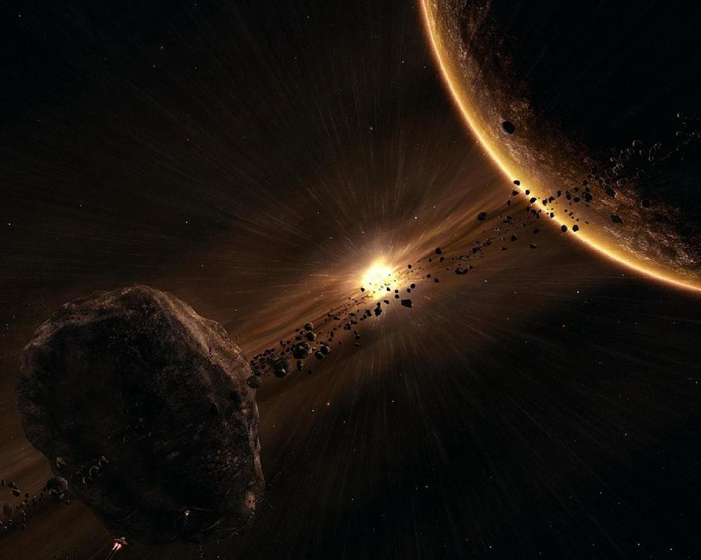 Asteroid Belt Free Wallpapers for Android