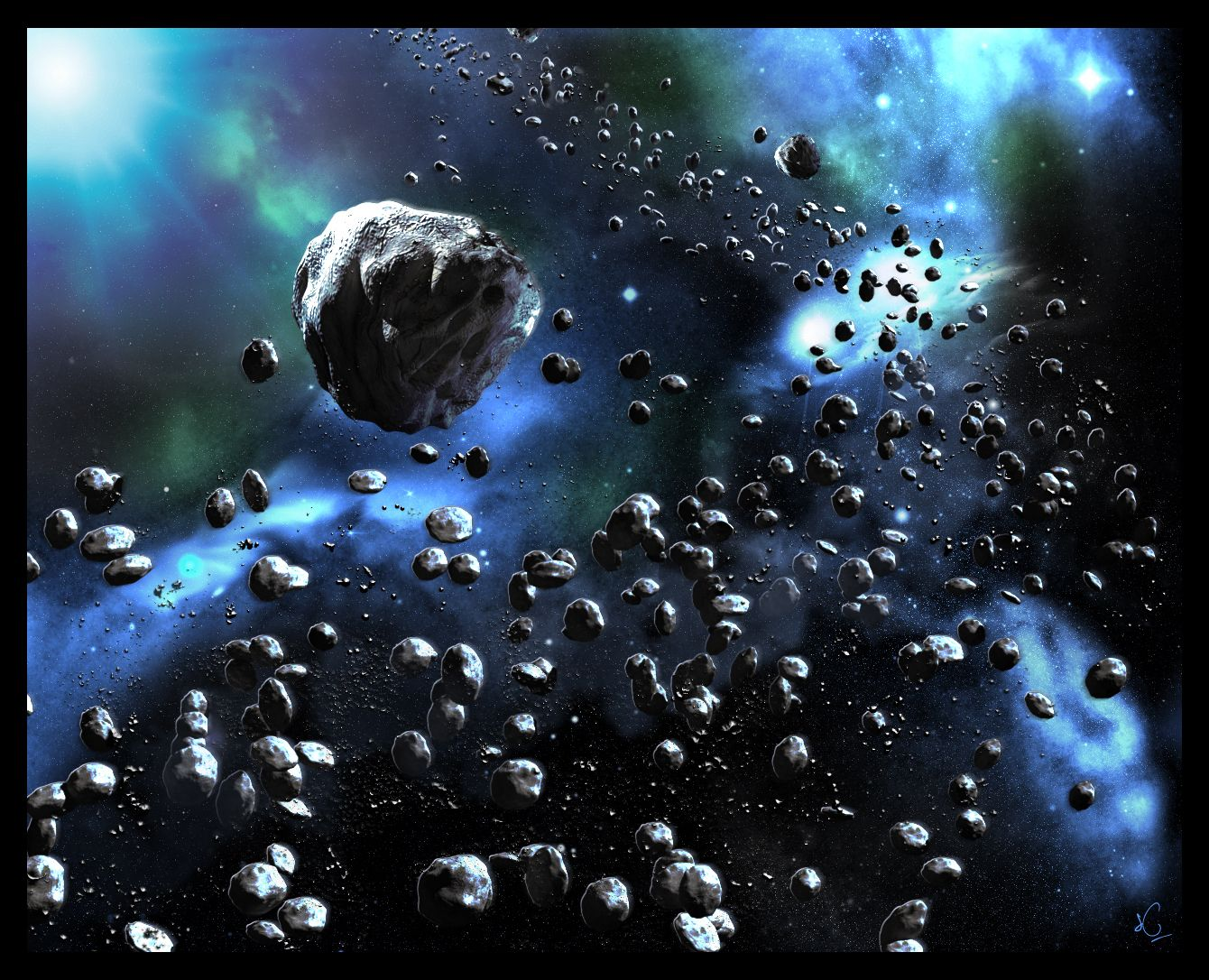 Asteroids HD Wallpapers