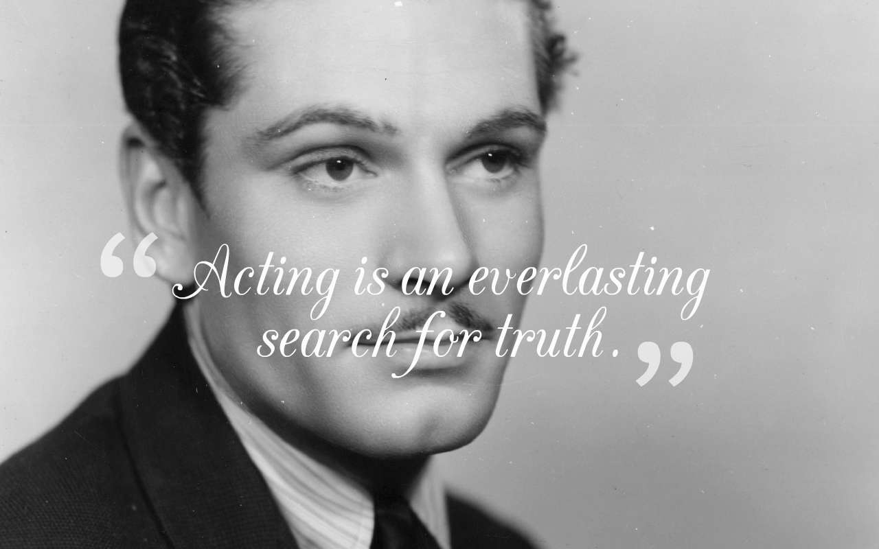 30+ English Actor Laurence Olivier Quotes & Sayings