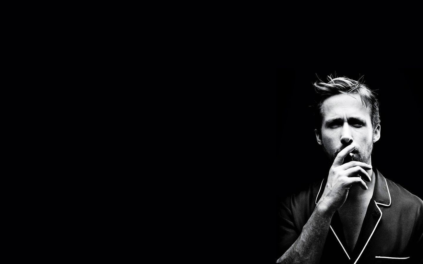 Image For > Ryan Gosling Black And White Wallpapers