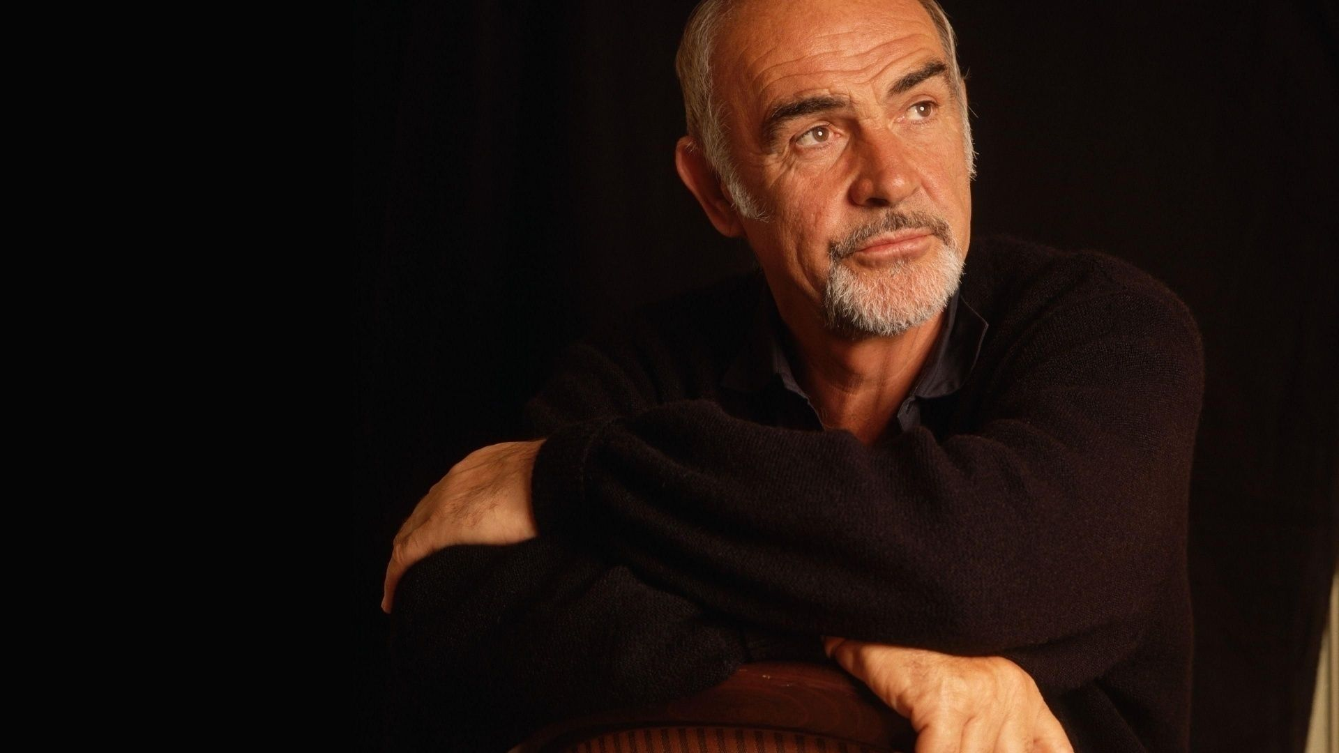 Download Wallpapers 1920x1080 Sean connery, Man, Actor, Producer