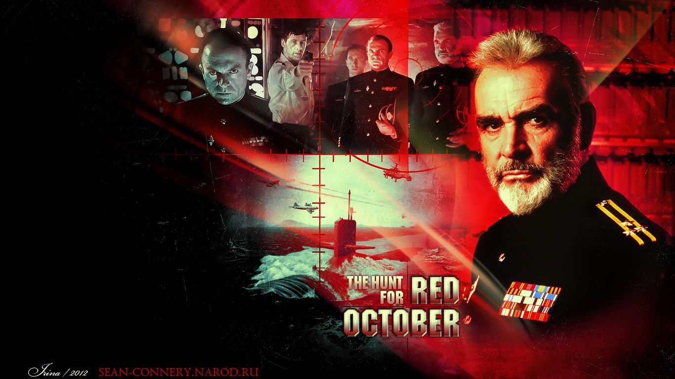 Sean Connery. The Hunt for Red October Wallpapers. by Bormoglot on