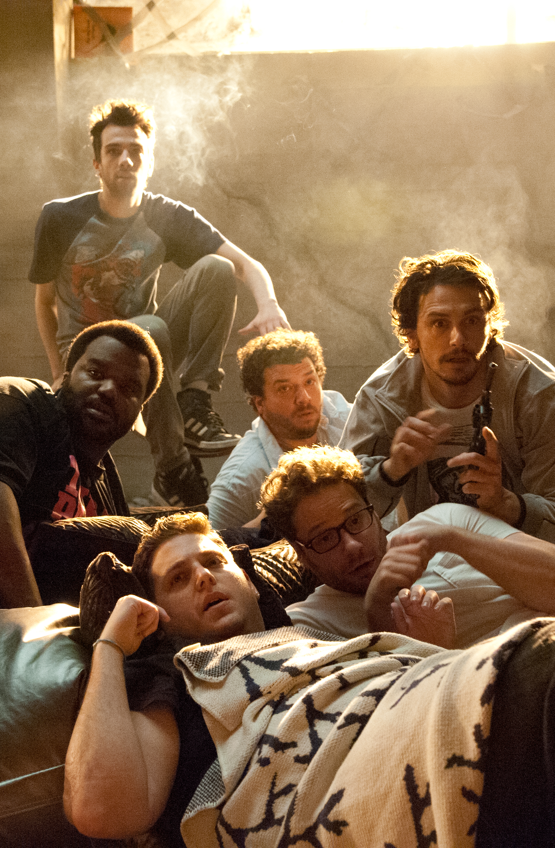 THIS IS THE END Image. THIS IS THE END Stars Seth Rogen, James