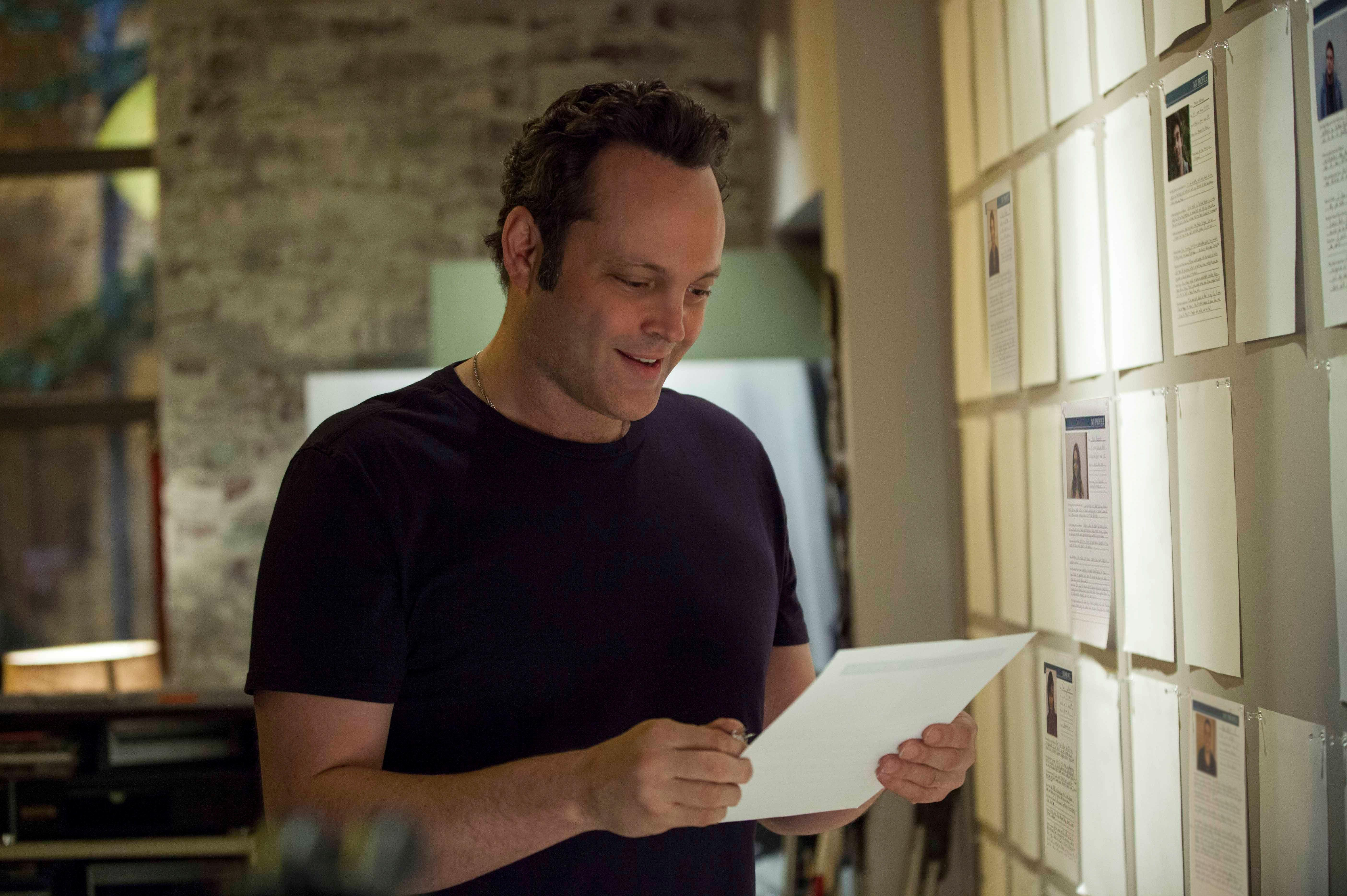 DELIVERY MAN Image. DELIVERY MAN Stars Vince Vaughn and Chris
