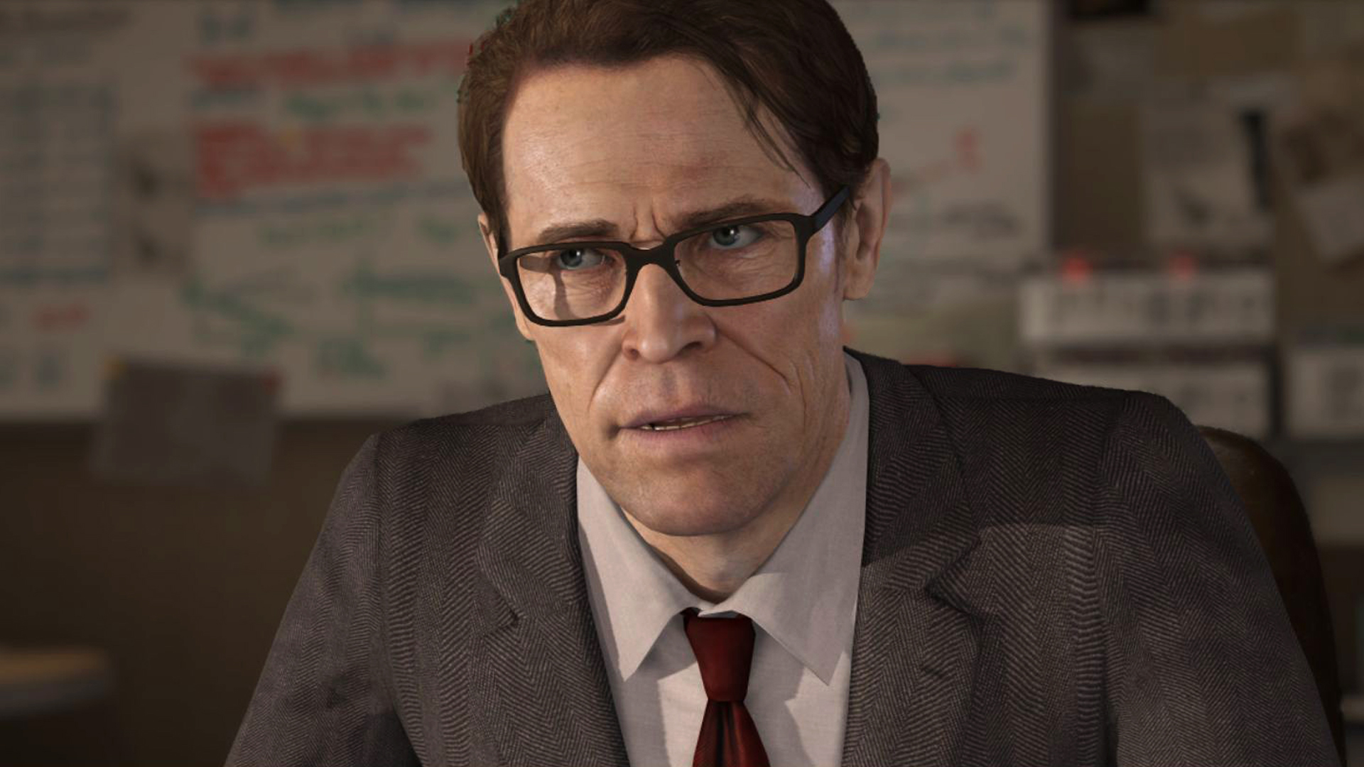 Beyond Two Souls Willem Dafoe Wallpapers ~ PS3 Games Wallpapers Res
