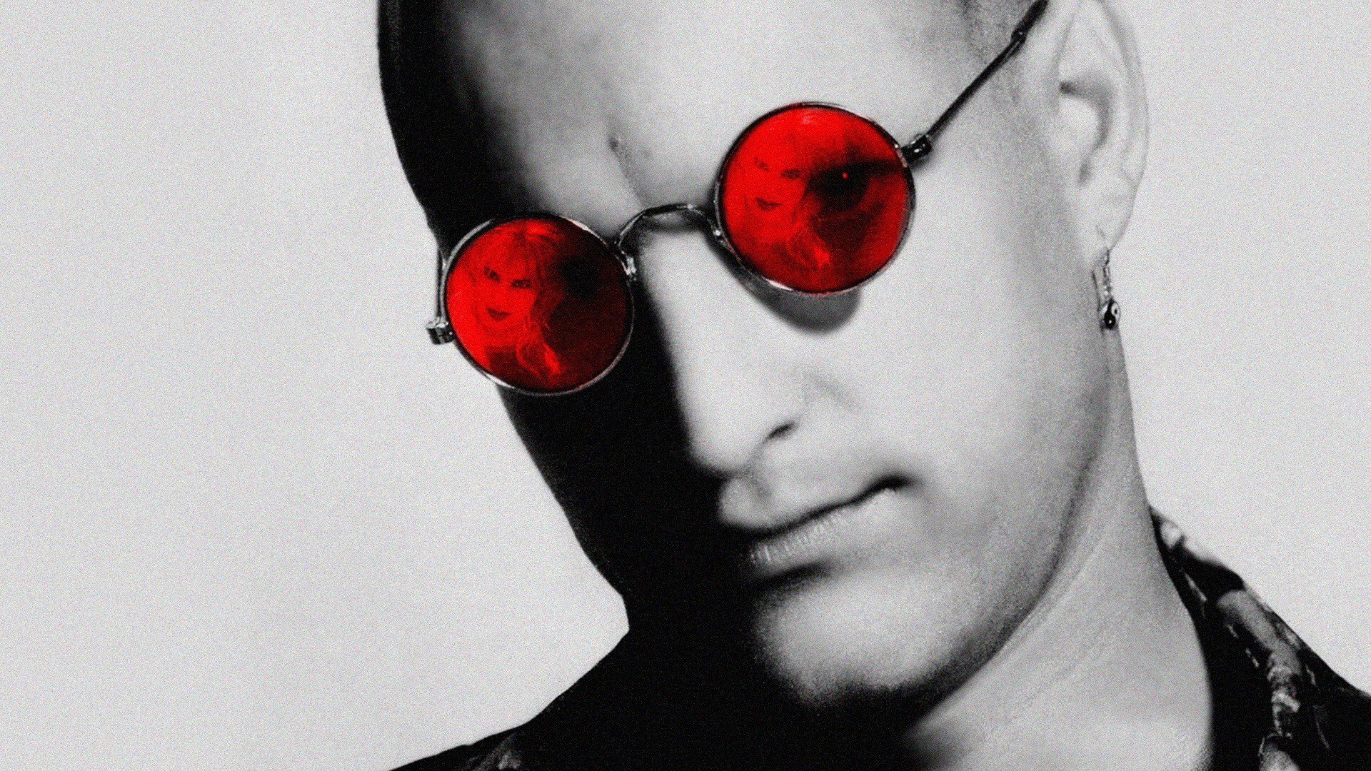 movies, Woody Harrelson, Natural Born Killers, movie posters, cover