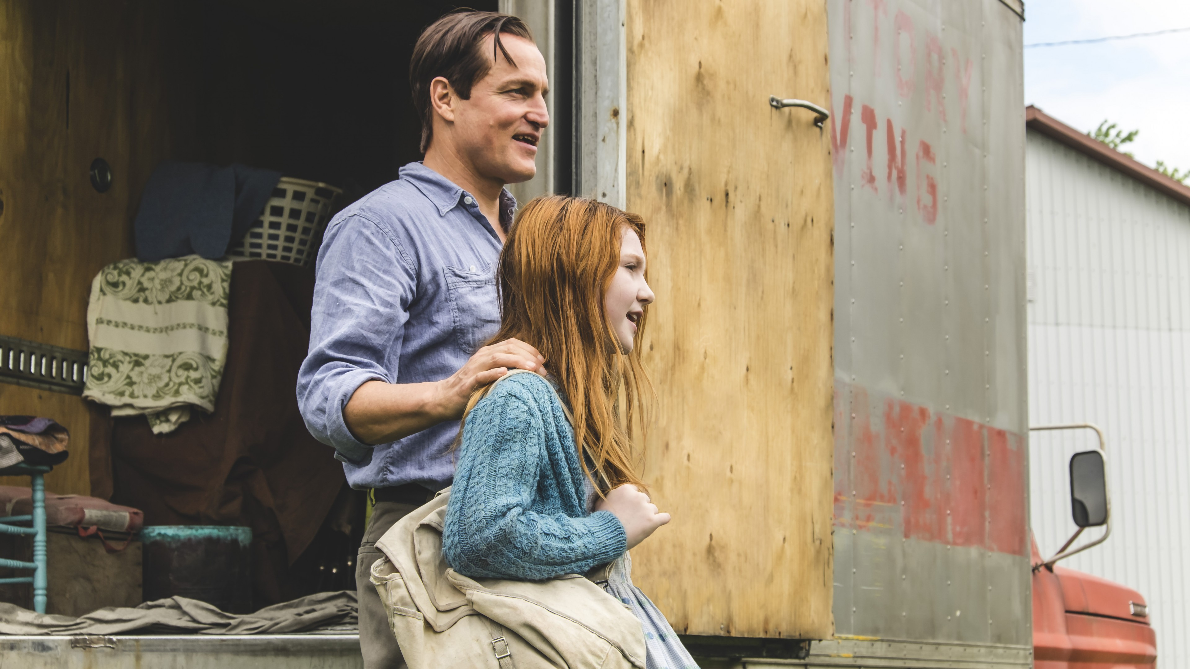 Wallpapers The Glass Castle, Brie Larson, Woody Harrelson, 4k, Movies