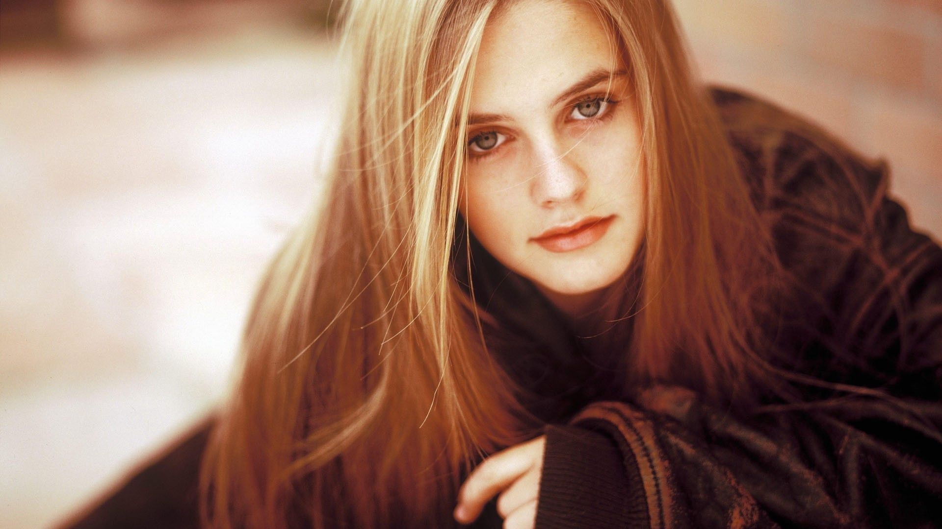 Download wallpapers 1920x1080 alicia silverstone, actress, blonde
