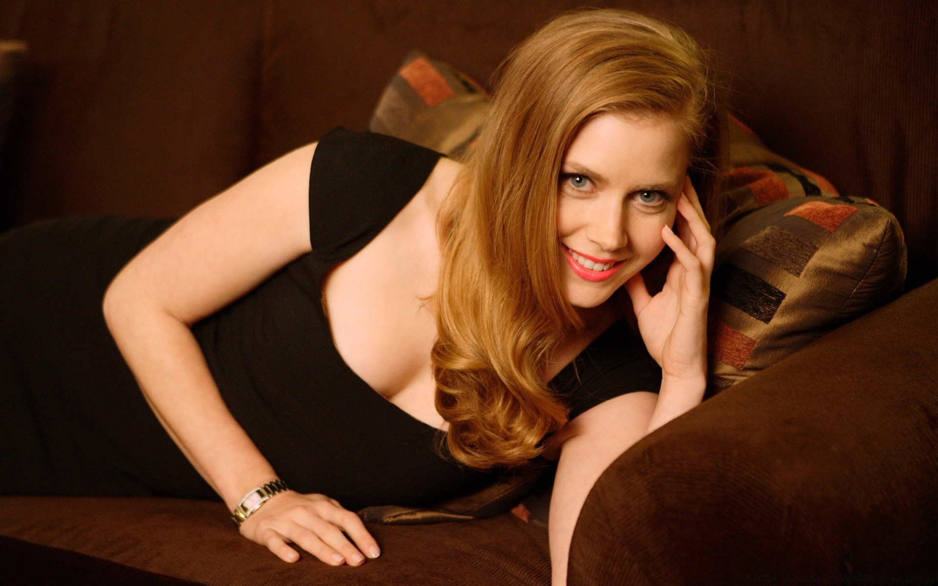 Amy Adams Smile. iPhone wallpapers for free