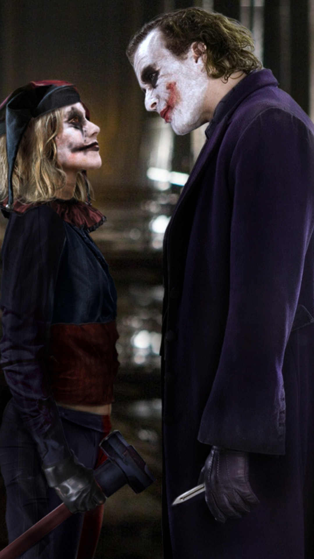 Wallpapers Harley Quinn and Joker Android