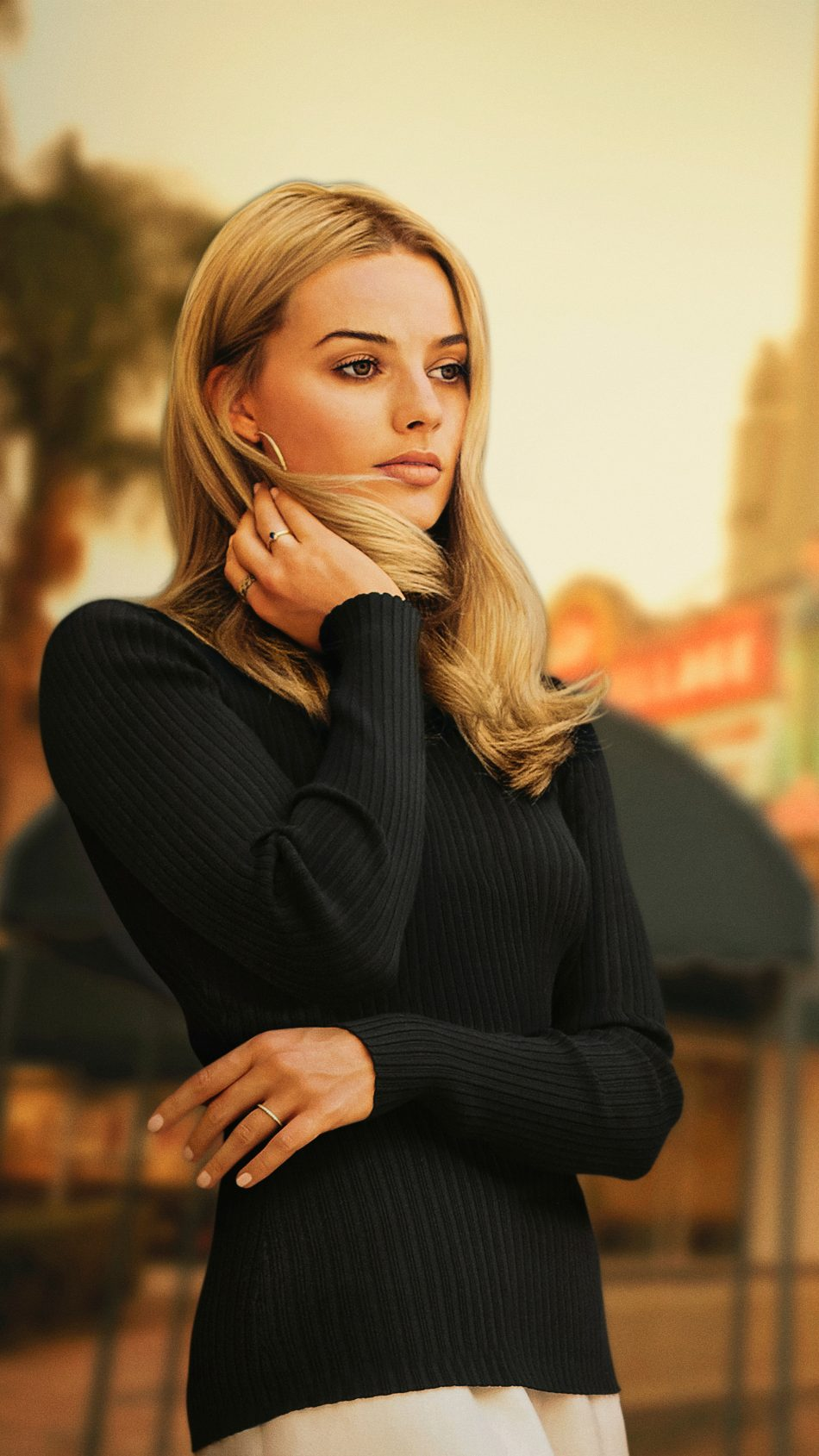 Download Margot Robbie Once Upon a Time in Hollywood 2019 Free Pure