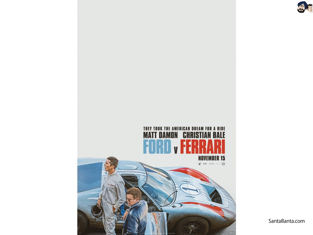Ford v Ferrari Movie Wallpapers