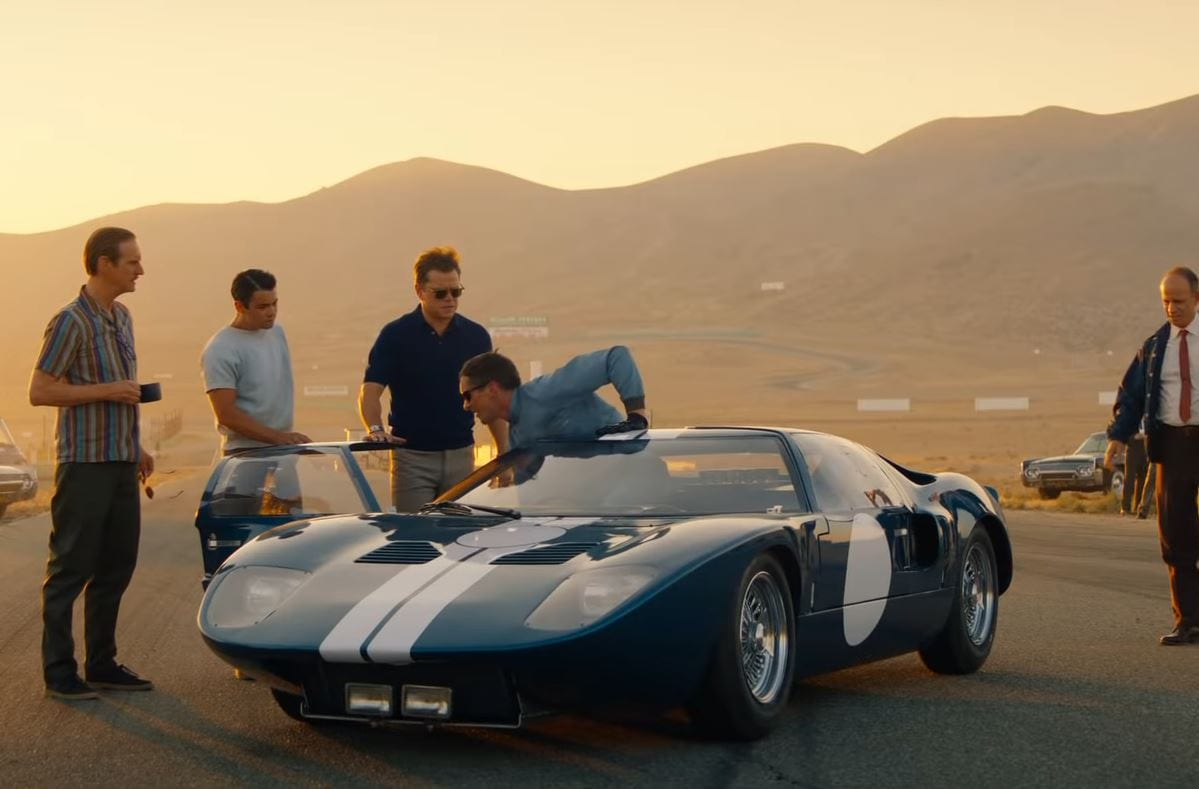 Kyle Says Ford v. Ferrari is a Thrilling Sports Film