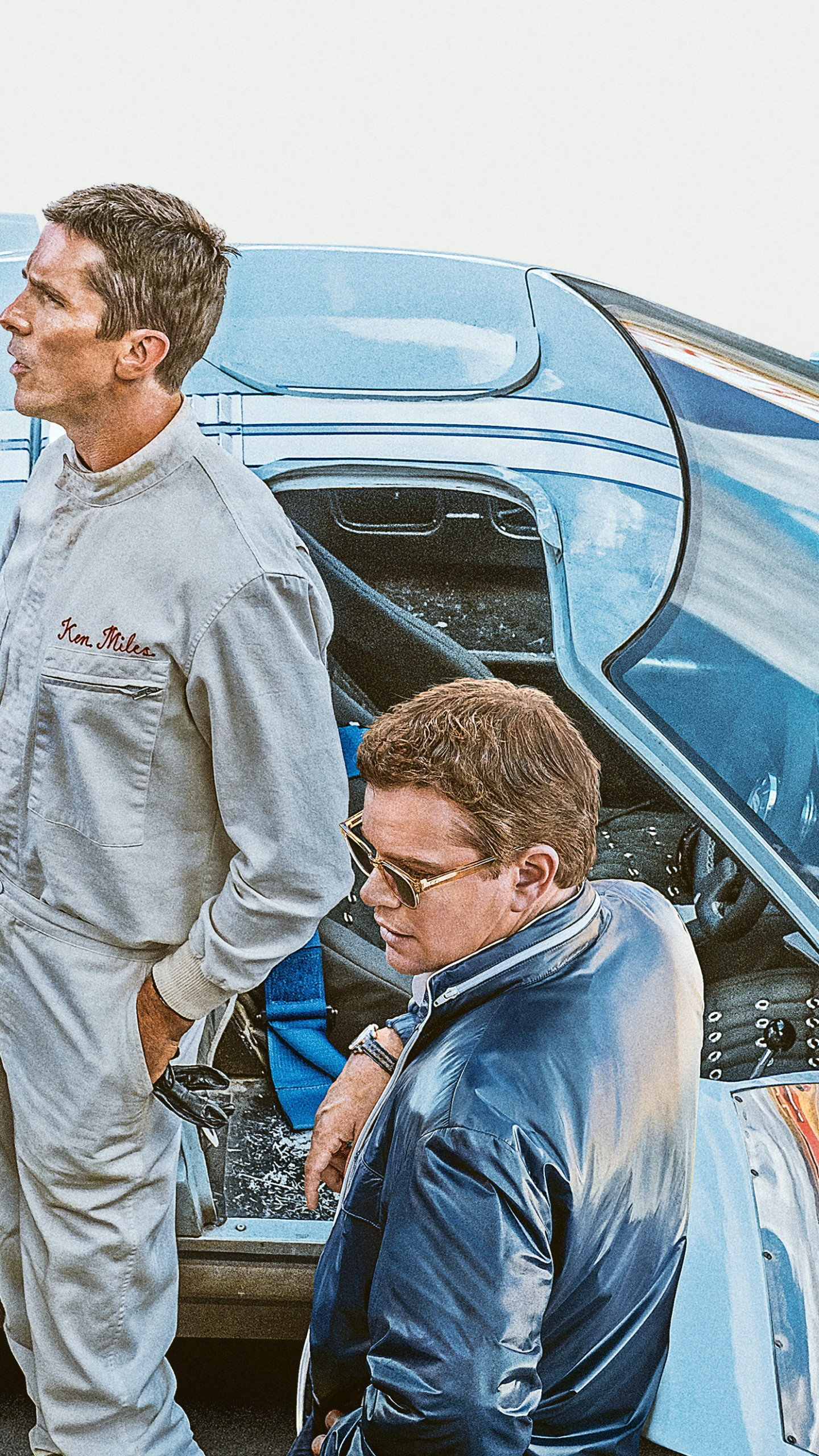 Wallpapers Ford v Ferrari, Christian Bale, Matt Damon, 2019