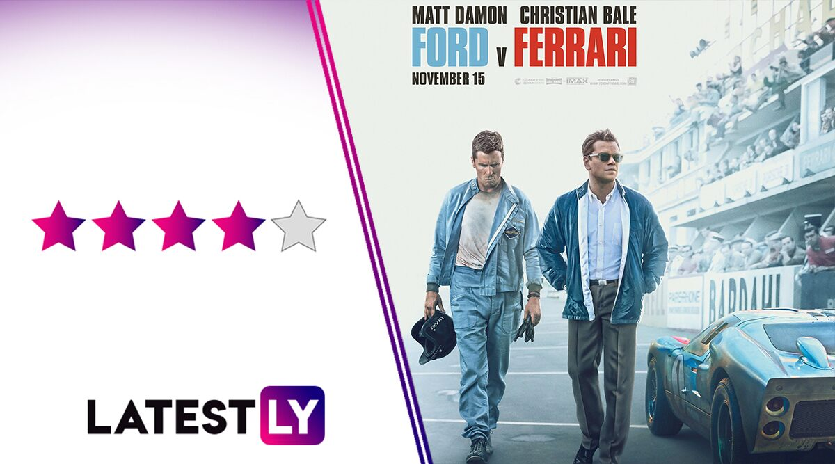 Ford v Ferrari Movie Review: Christian Bale, Matt Damon Set