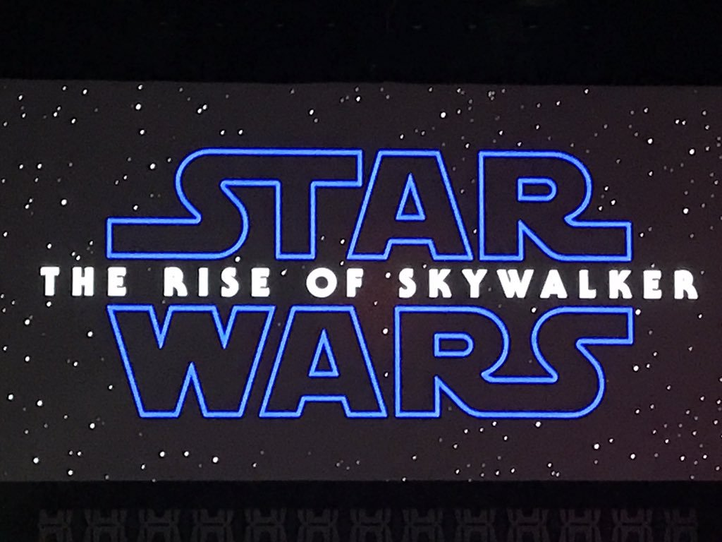 Brian Truitt on Twitter: And here's your title: Star Wars: The Rise