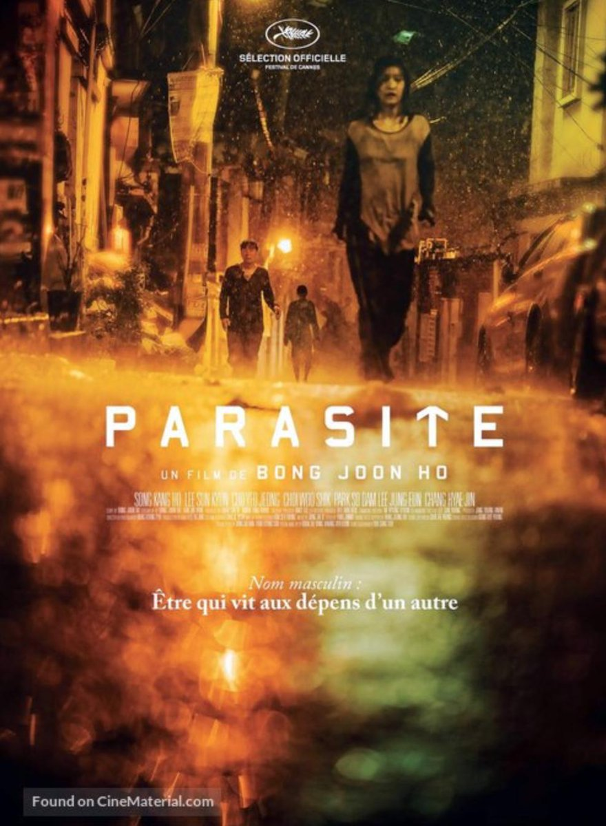 Movie Wallpaper: Parasite Movie 2019 Poster