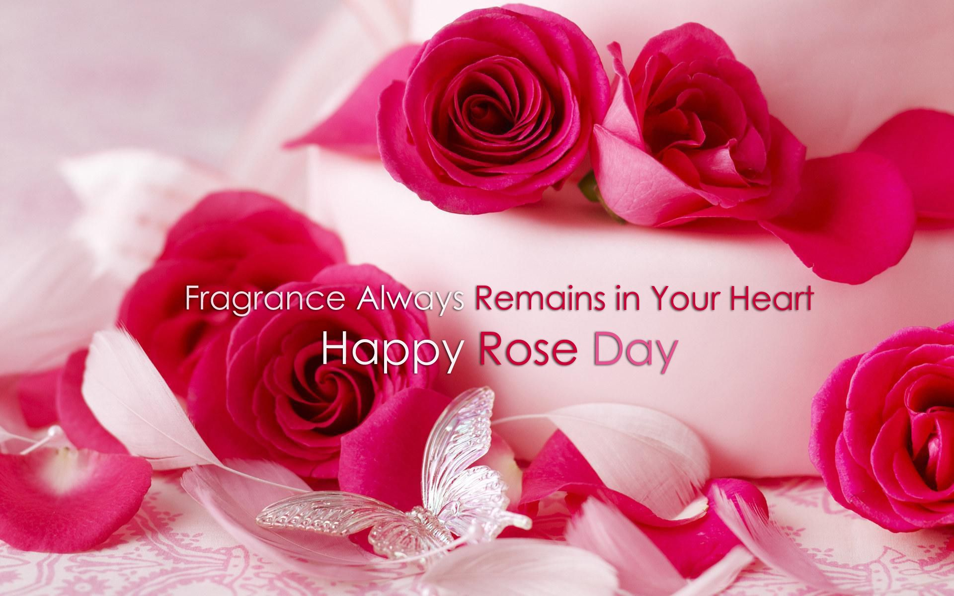 Happy Rose Day Wallpapers Quotes HD