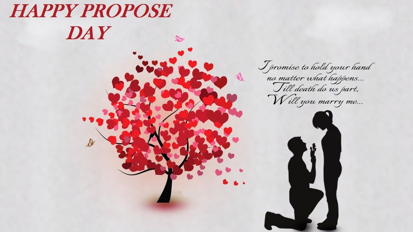 Propose Day Image, GIF, 3D, HD Wallpapers, Pics & Photos for