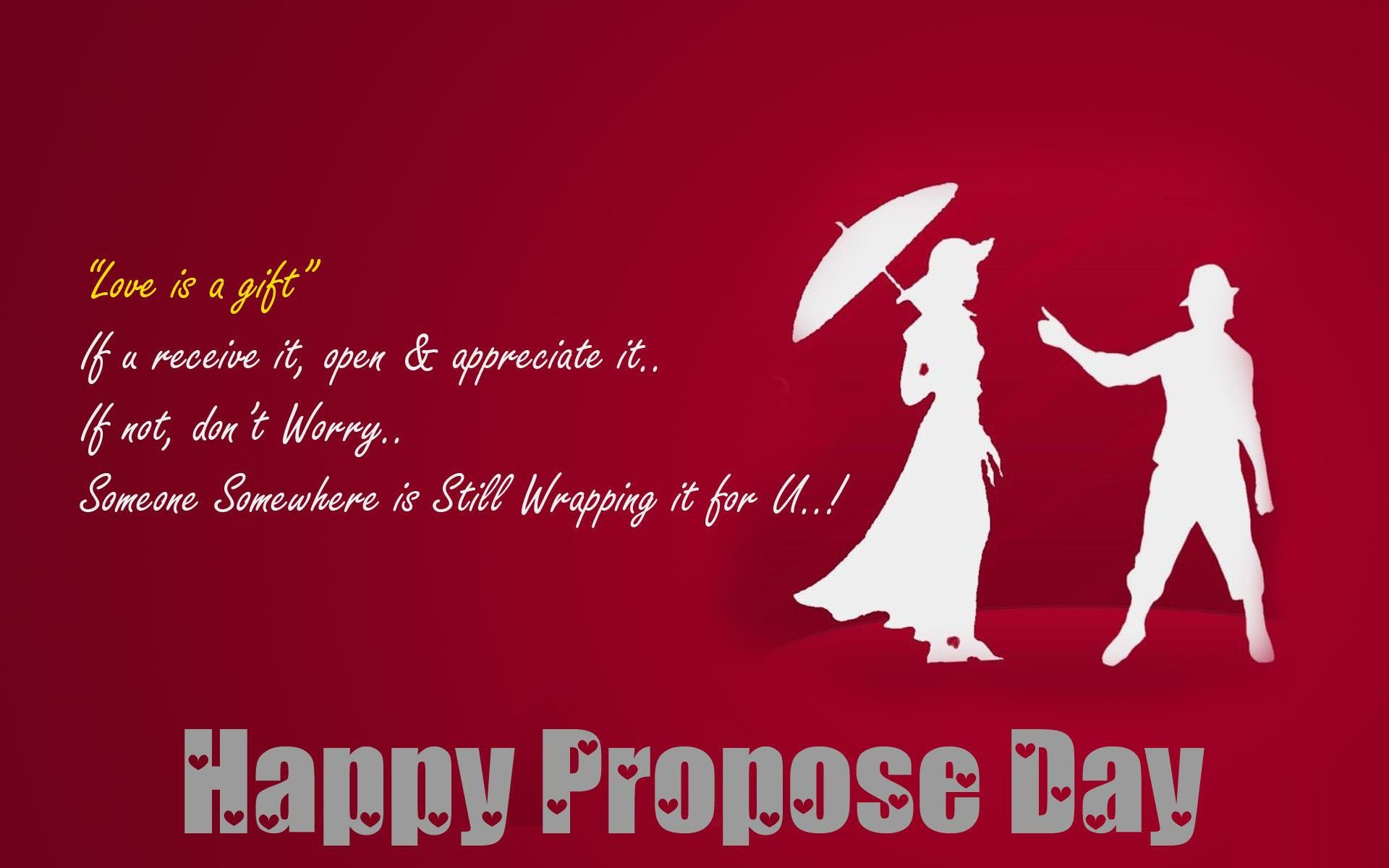 Propose Day Image, Wallpapers, Photos 2018 [ Free Download ]