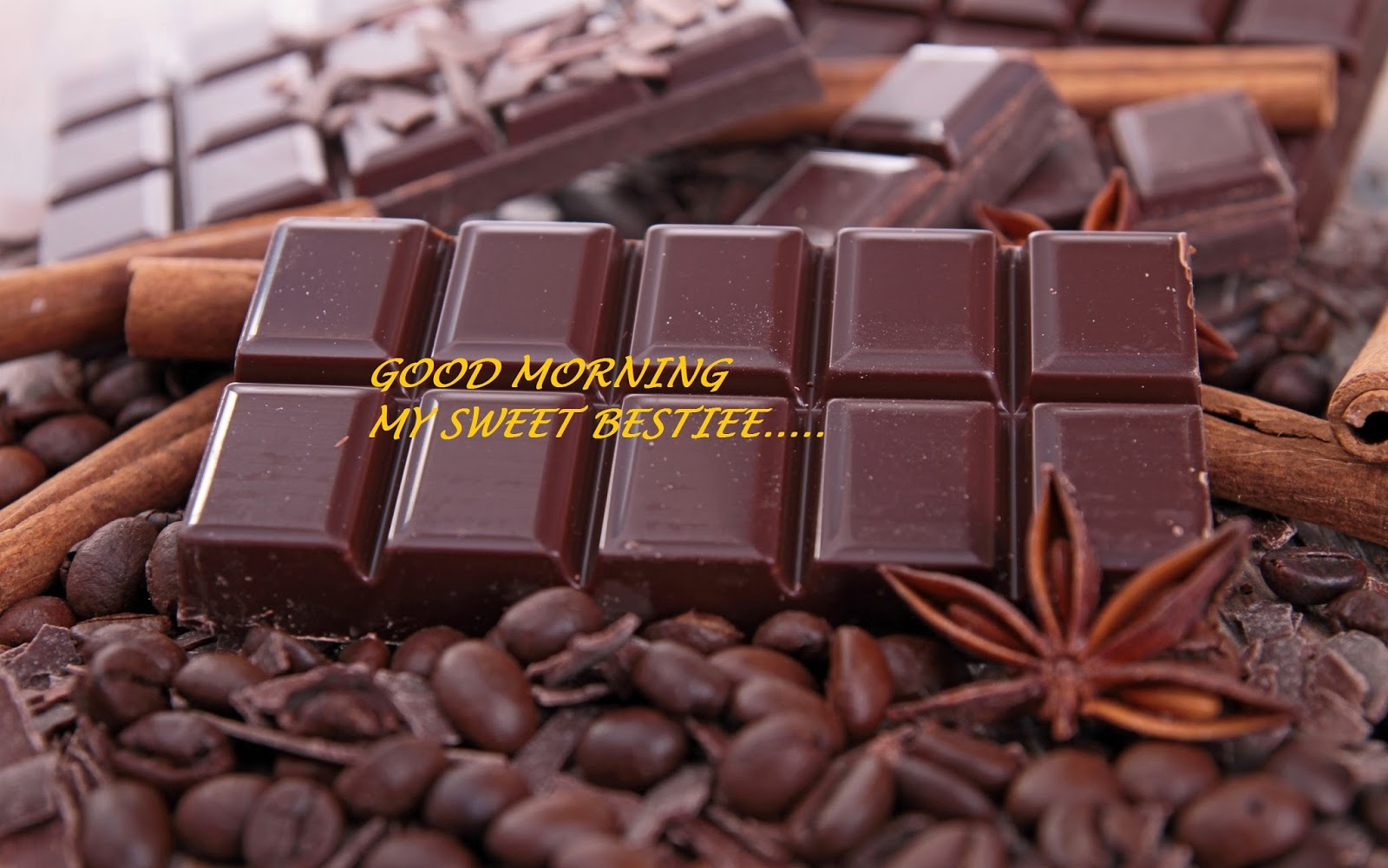 Chocolate good morning wishes in 2018