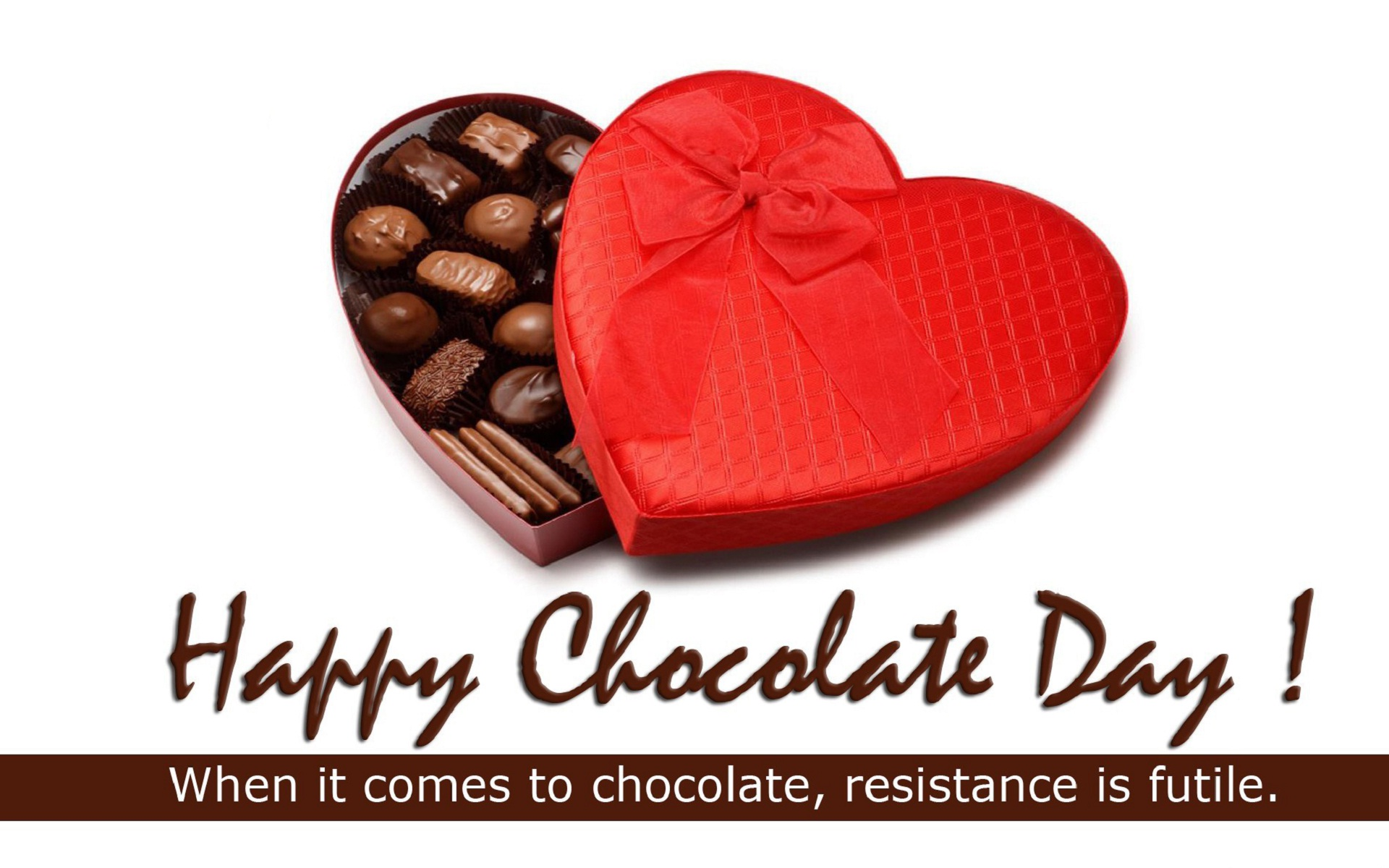 Happy Chocolate Day Best Wishes Wallpapers