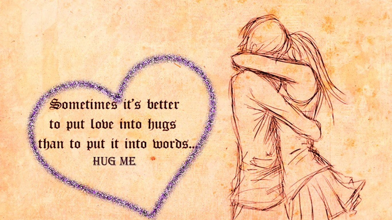 Hug Day Quotes Wallpapers 12659