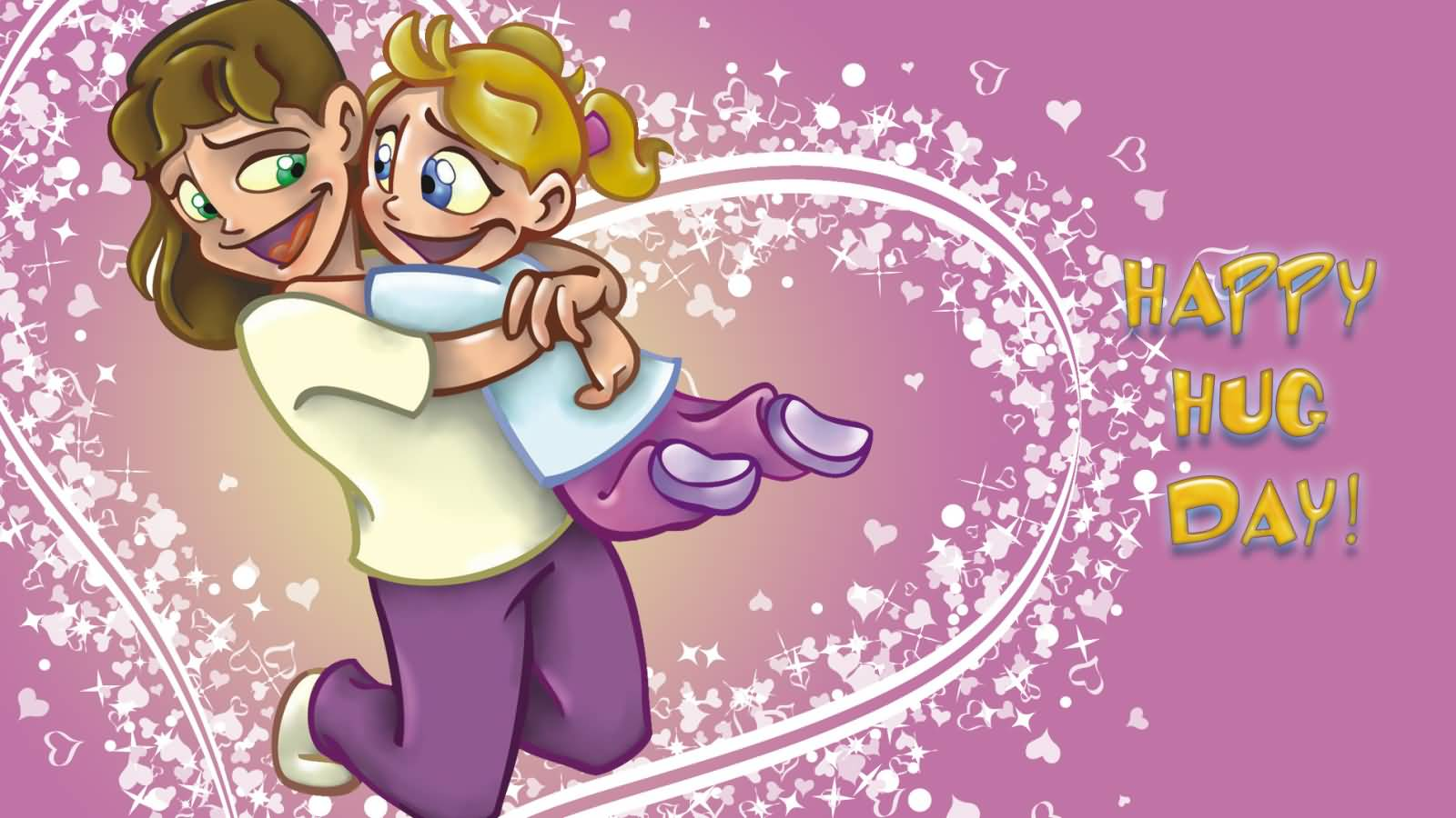55 Happy Hug Day Greeting Card Pictures And Image