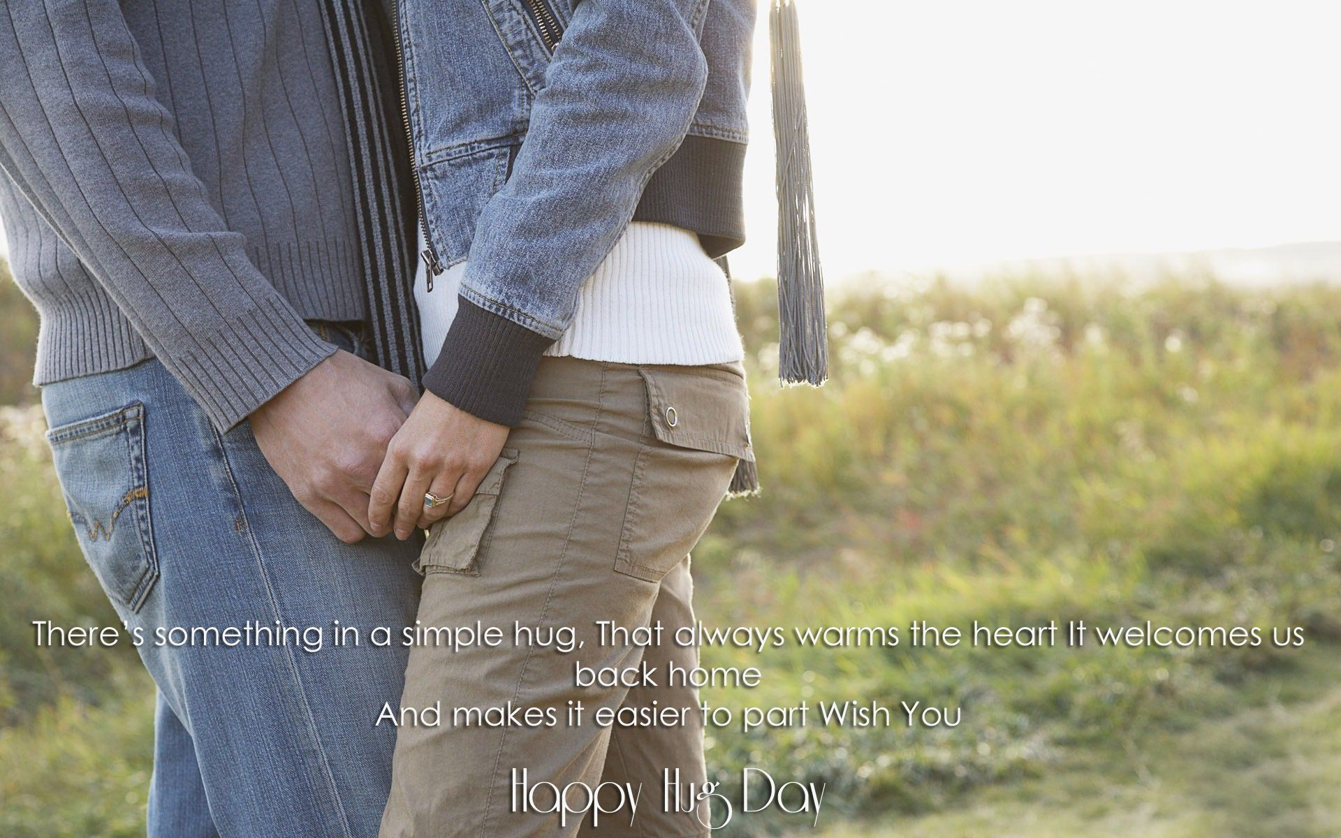 Hug Day Quotes High Definition Wallpapers 12657