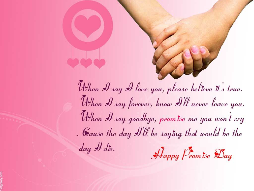 Promise Day Image, GIF, HD Wallpapers, Photos & 3D Pics for