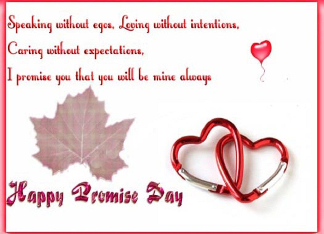 Promise Day Wishes 2018 Valentine Image & Wallpapers