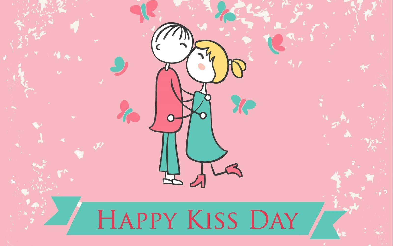 Happy Kiss Day Wishes SMS Quotes Status 2018