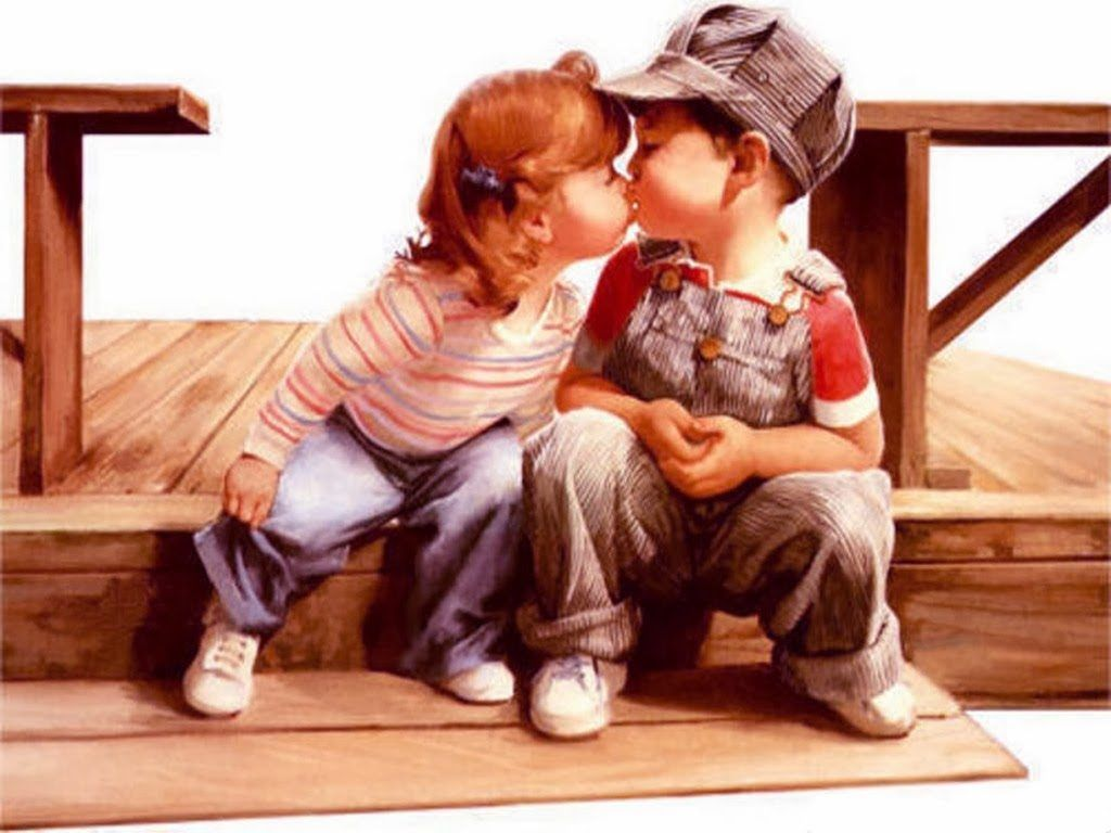 Valentine ~ Kiss Day Art Hd Wallpapers Happy Wallpapers Image Pics