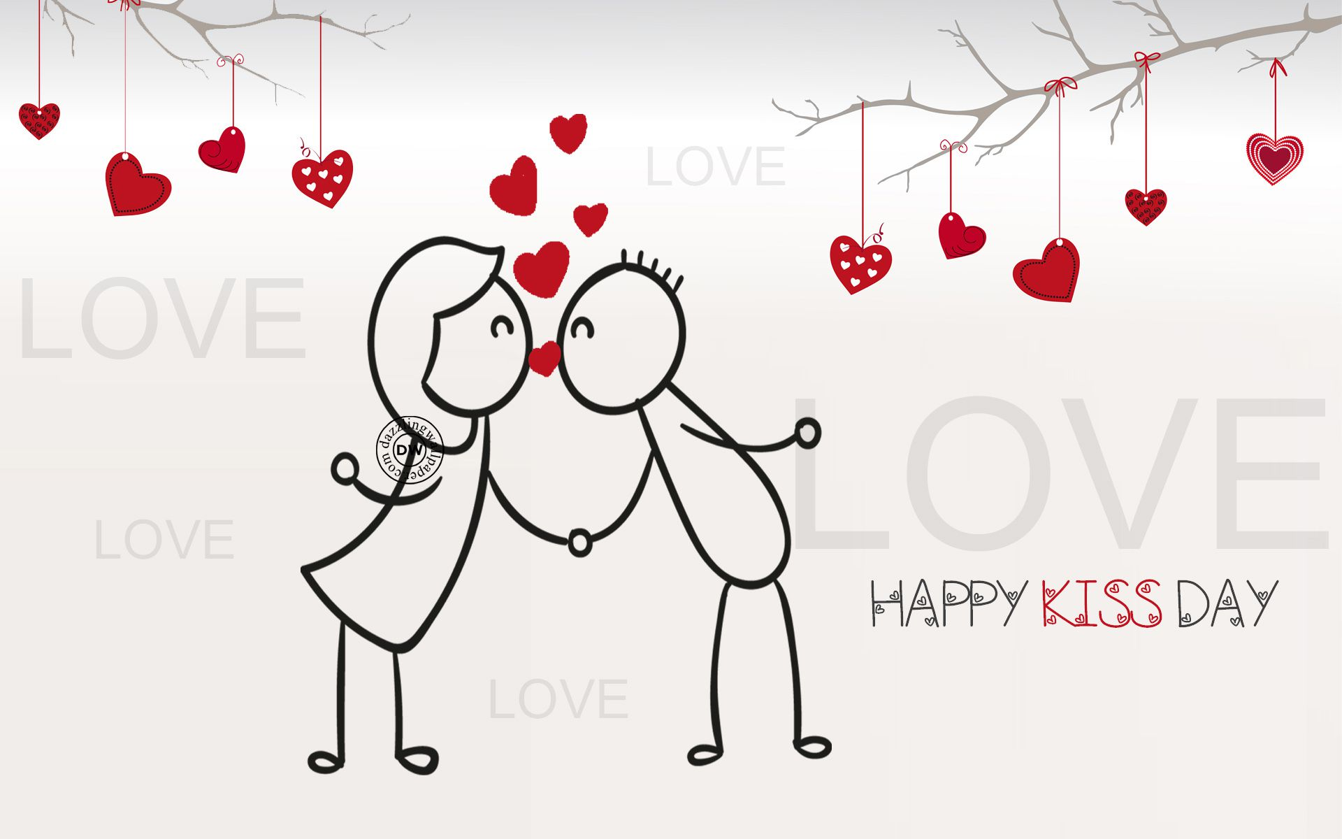 Kiss Day – Latest Festival Wishes And Greeting Nice HD Wallpapers