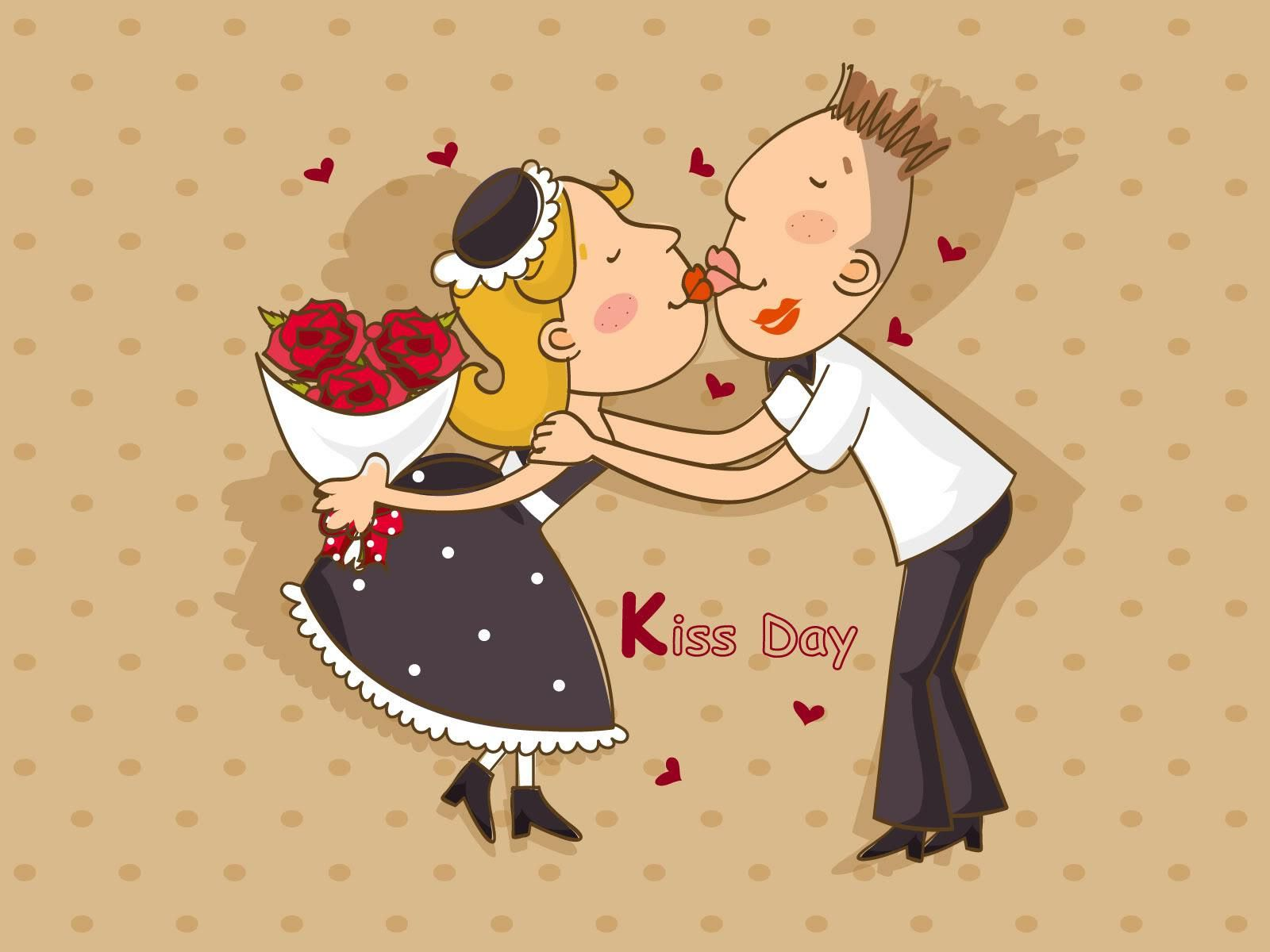 The kiss day wallpapers