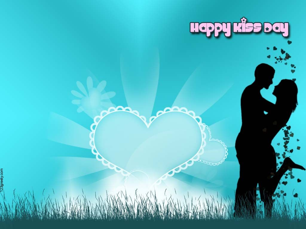 60+ Beautiful Kiss Day Greeting Card Pictures