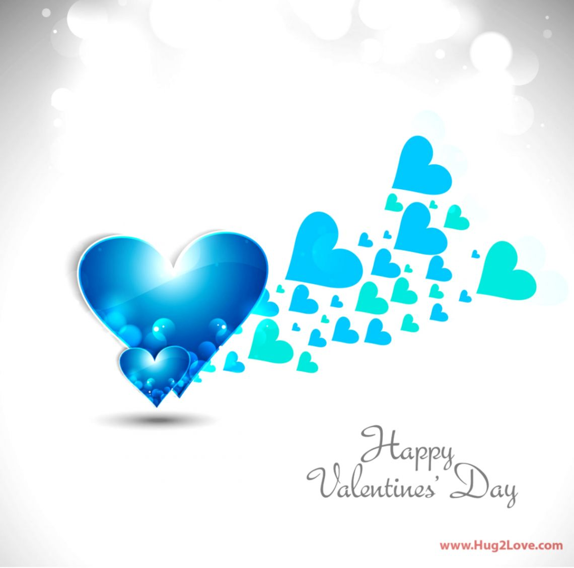 Colorful Love Valentines Day Wallpapers Hd