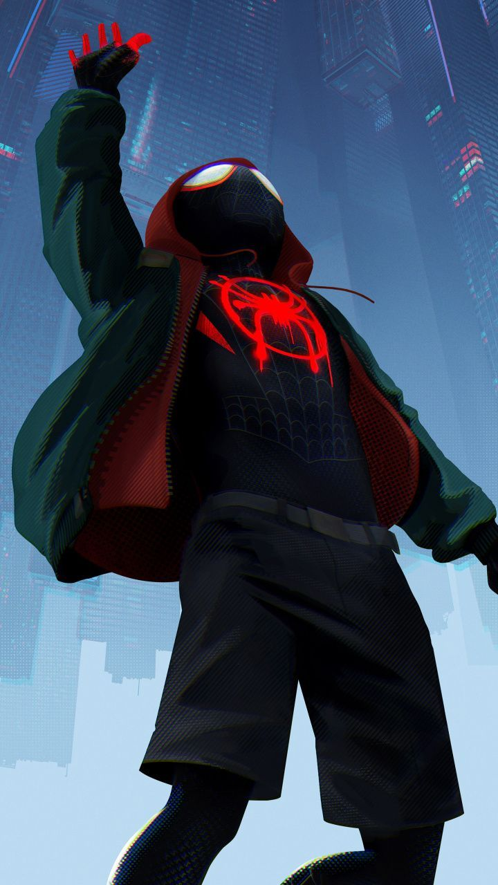 720x1280 wallpapers Animated movie, 2019, Spider