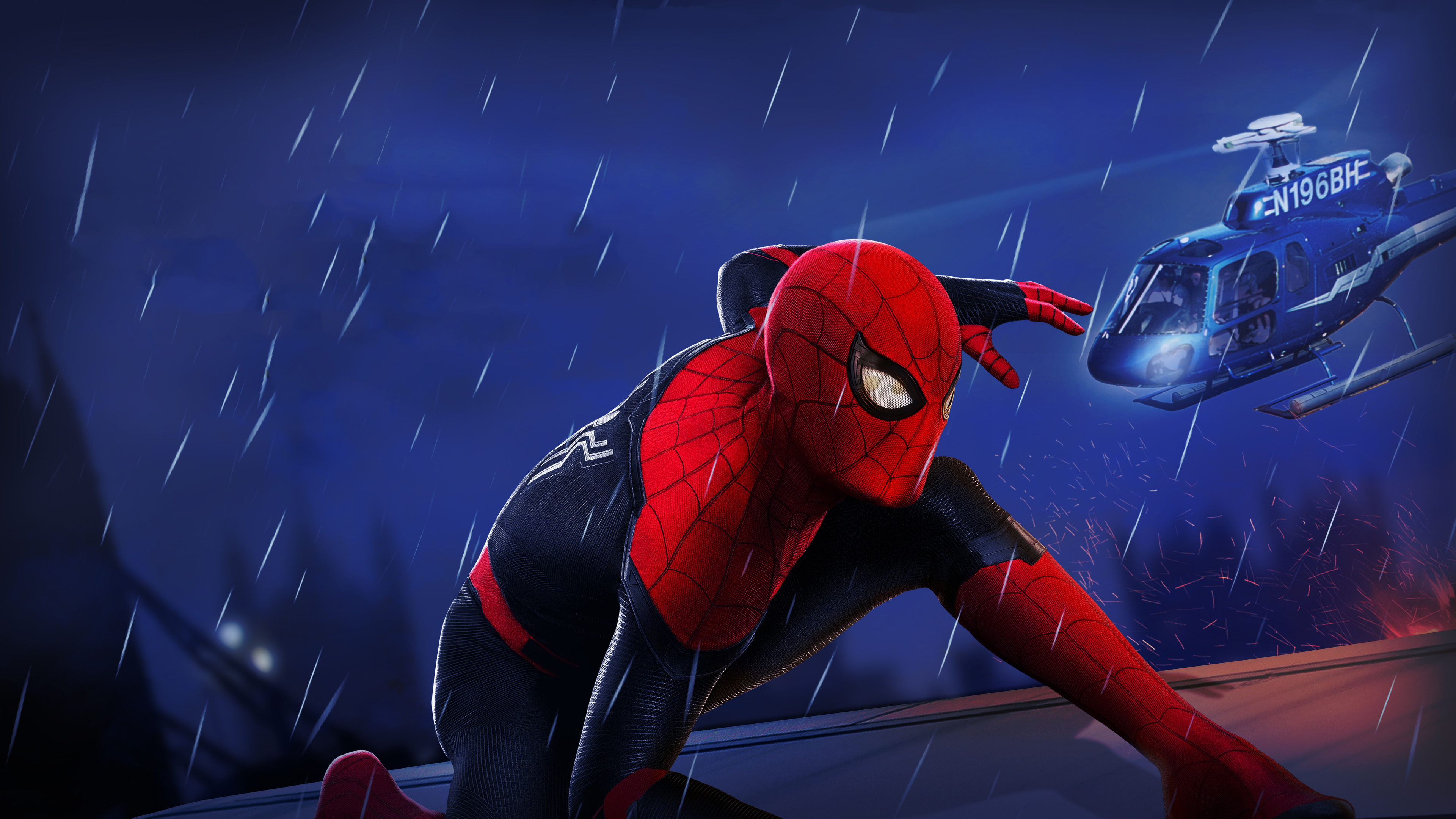 Wallpapers 4k Spiderman Far From Home Movie 4k 2019 movies wallpapers