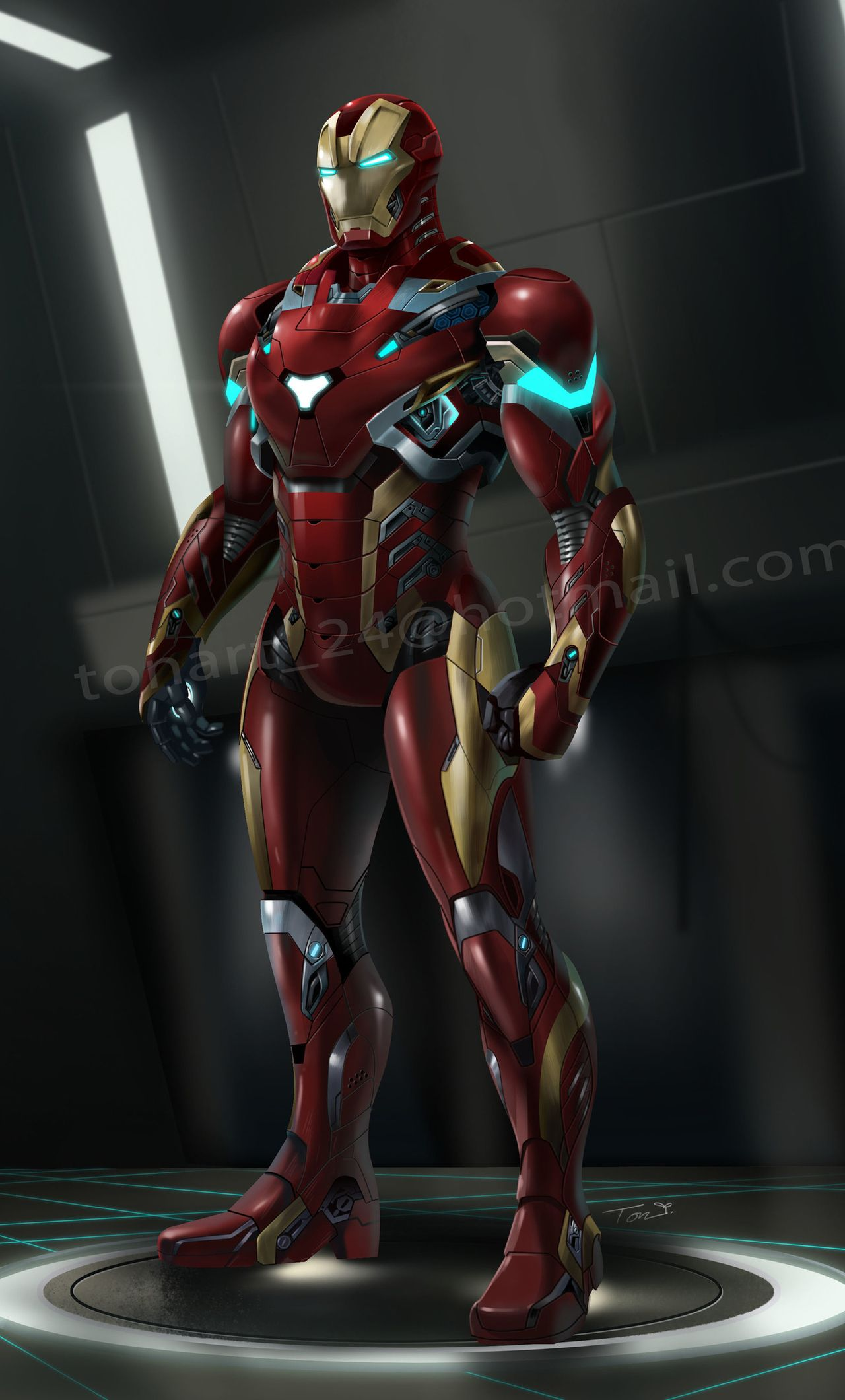 1280x2120 Iron Man Suit Artwork iPhone 6+ HD 4k Wallpapers, Image