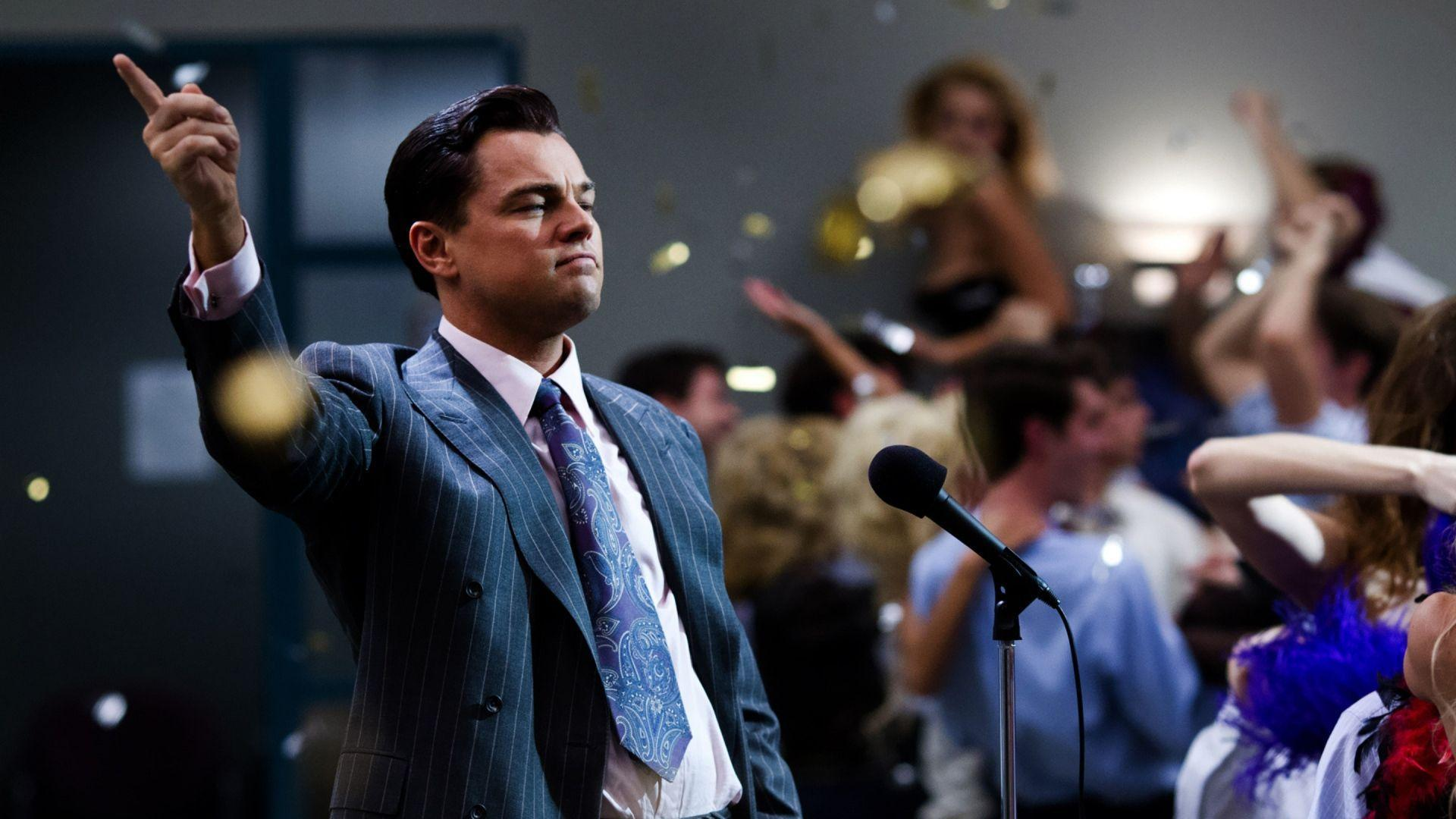 Download Wallpapers 1920x1080 The wolf of wall street, Leonardo