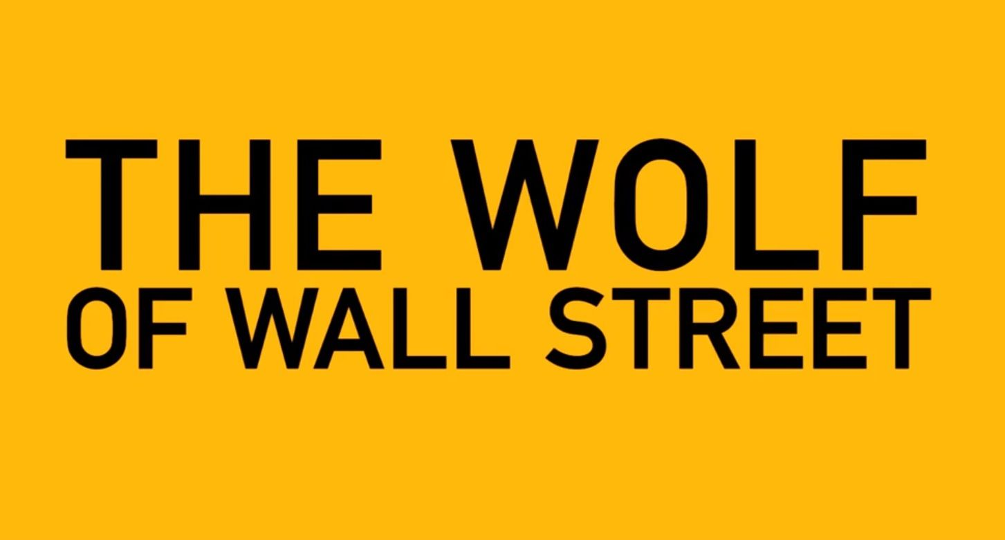 The Wolf of Wall Street' and an Audience of Sheep