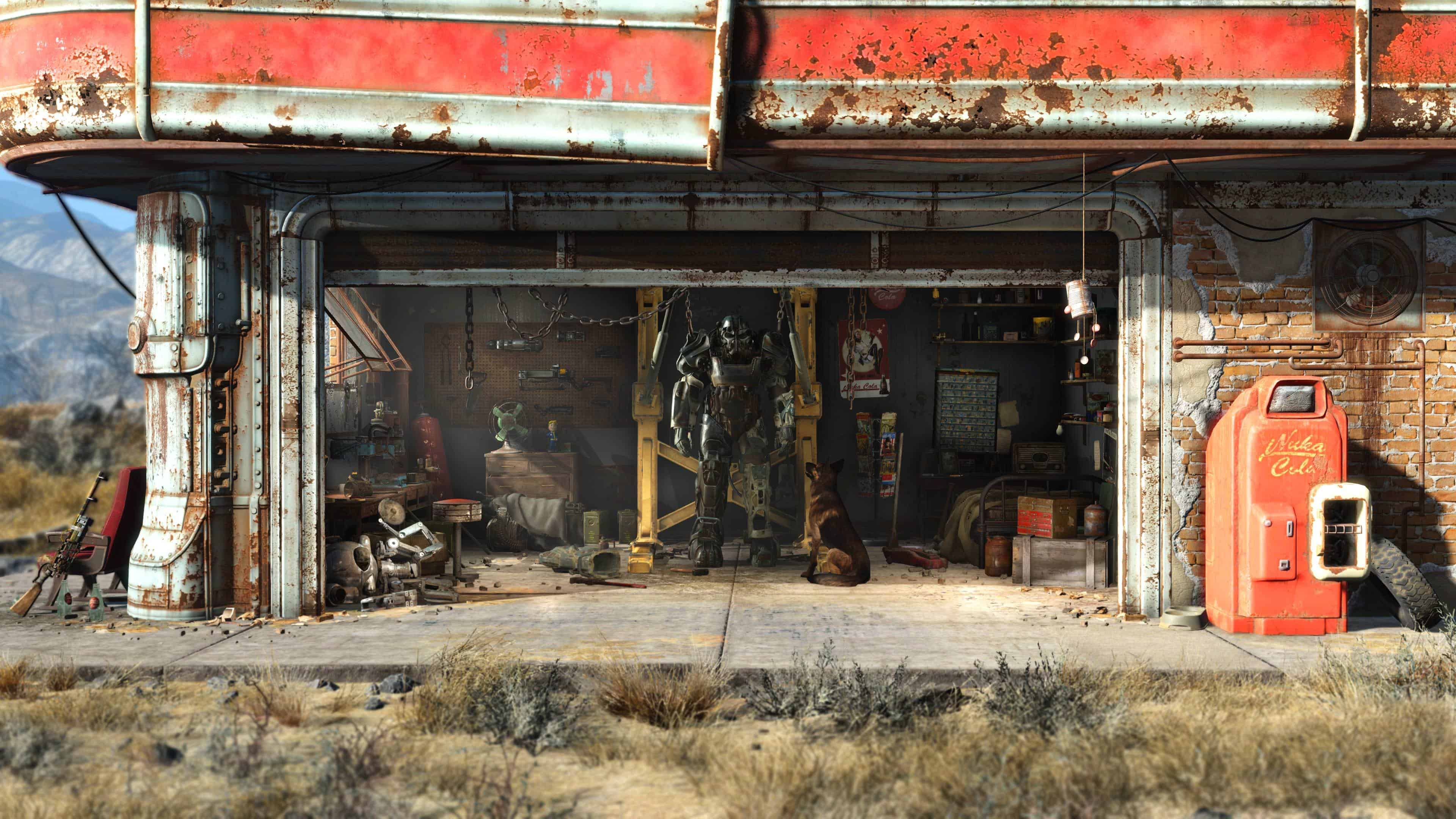 Fallout 4 Garage Wallpapers High Resolution ~ Festival Wallpapers