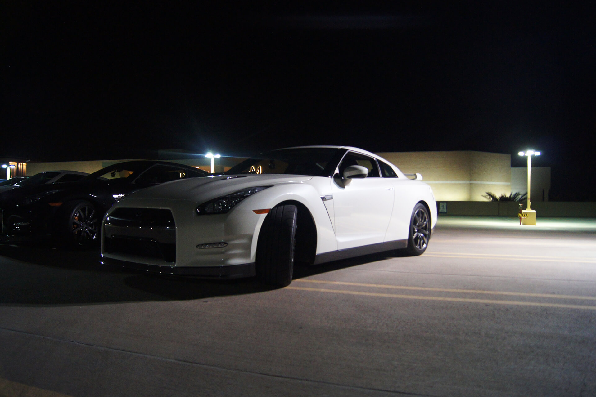 White Nissan GTR Parking Garage Wallpapers 61815 1920x1280px