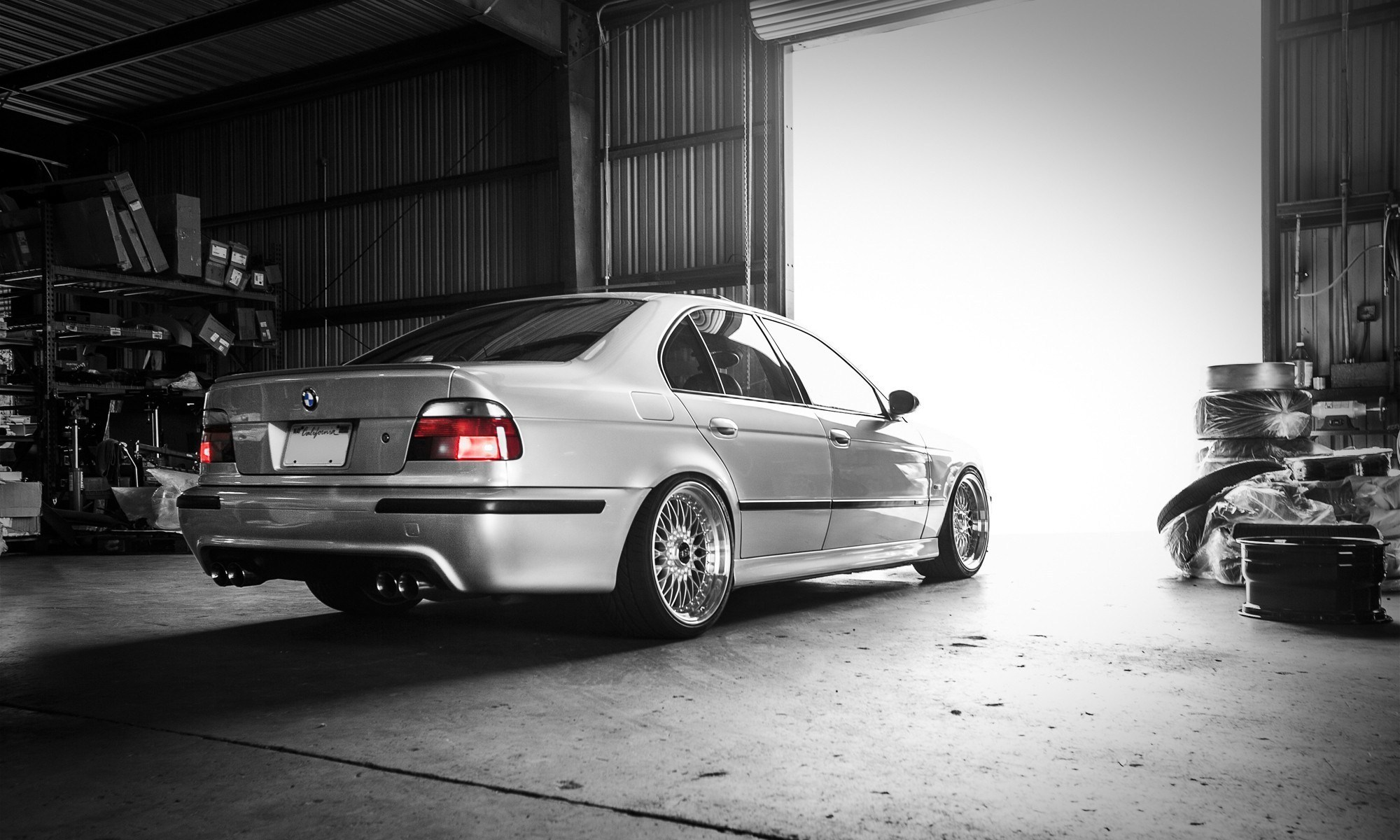 Car Bmw M5 E39 E 39 Garage Wallpapers Hd Desktop Mobile Wallpapers
