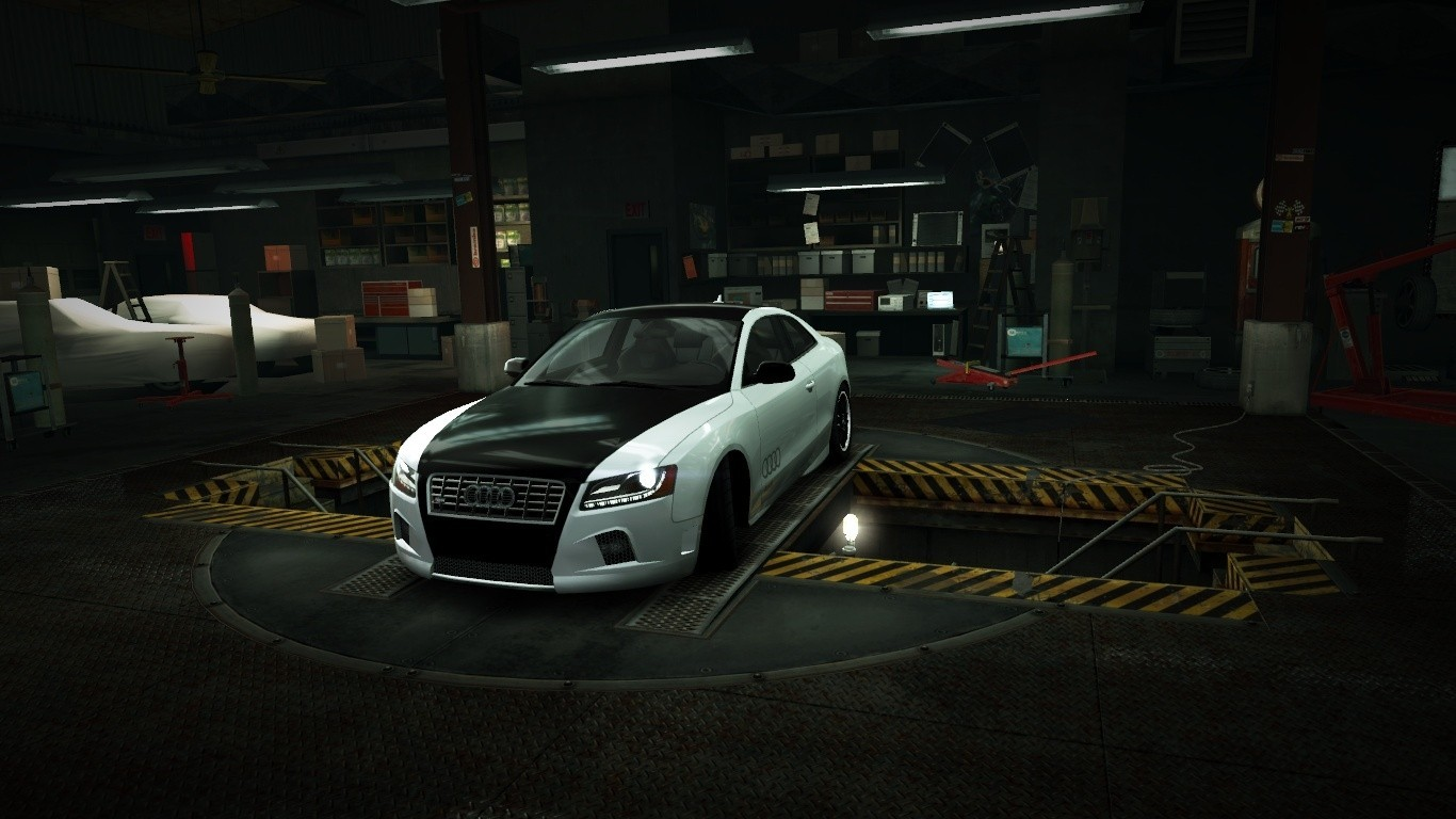 Need for speed audi s5 garage nfs wallpapers