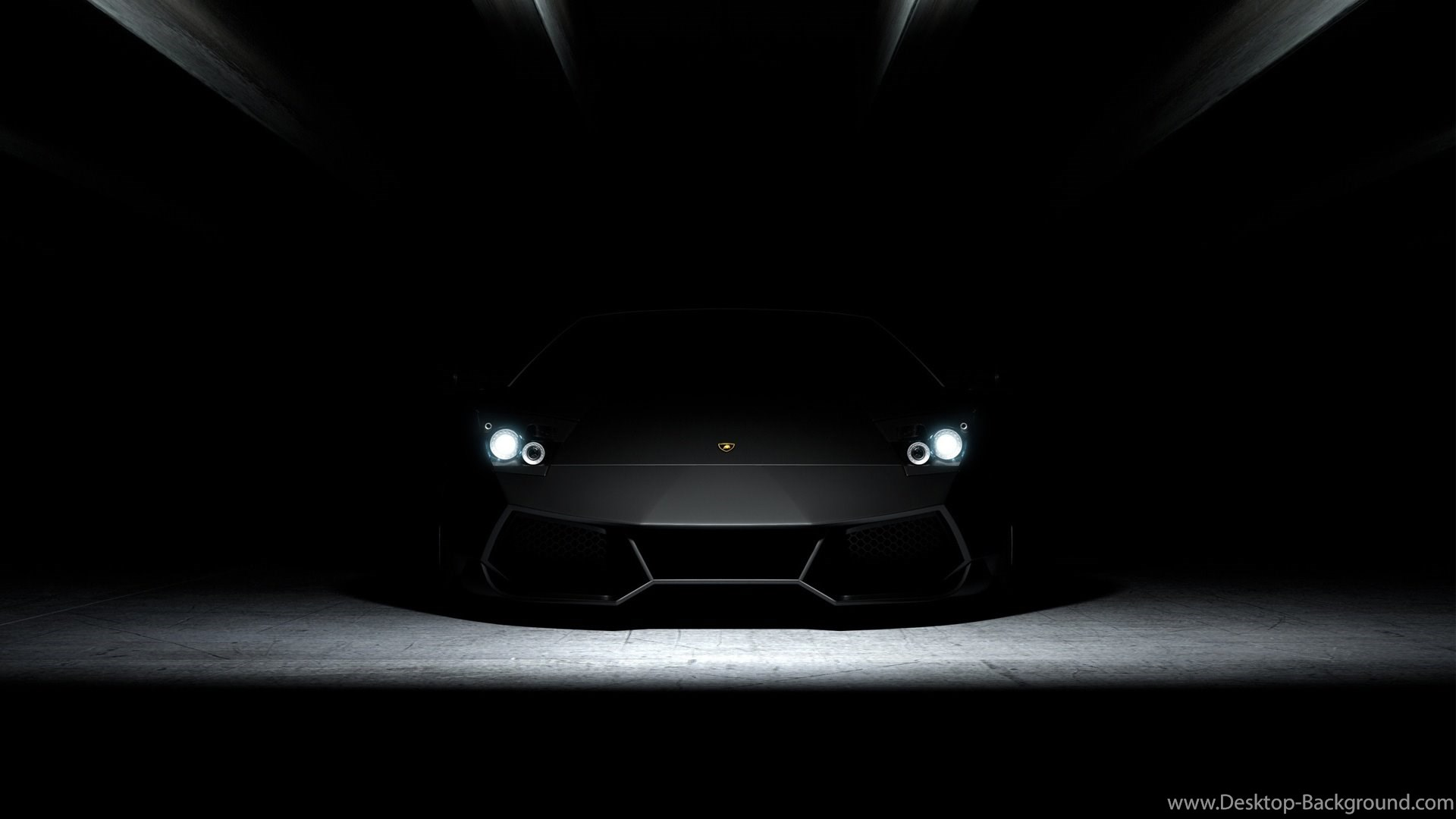 Full HD Wallpapers Lamborghini Aventador Front View Garage Awesome