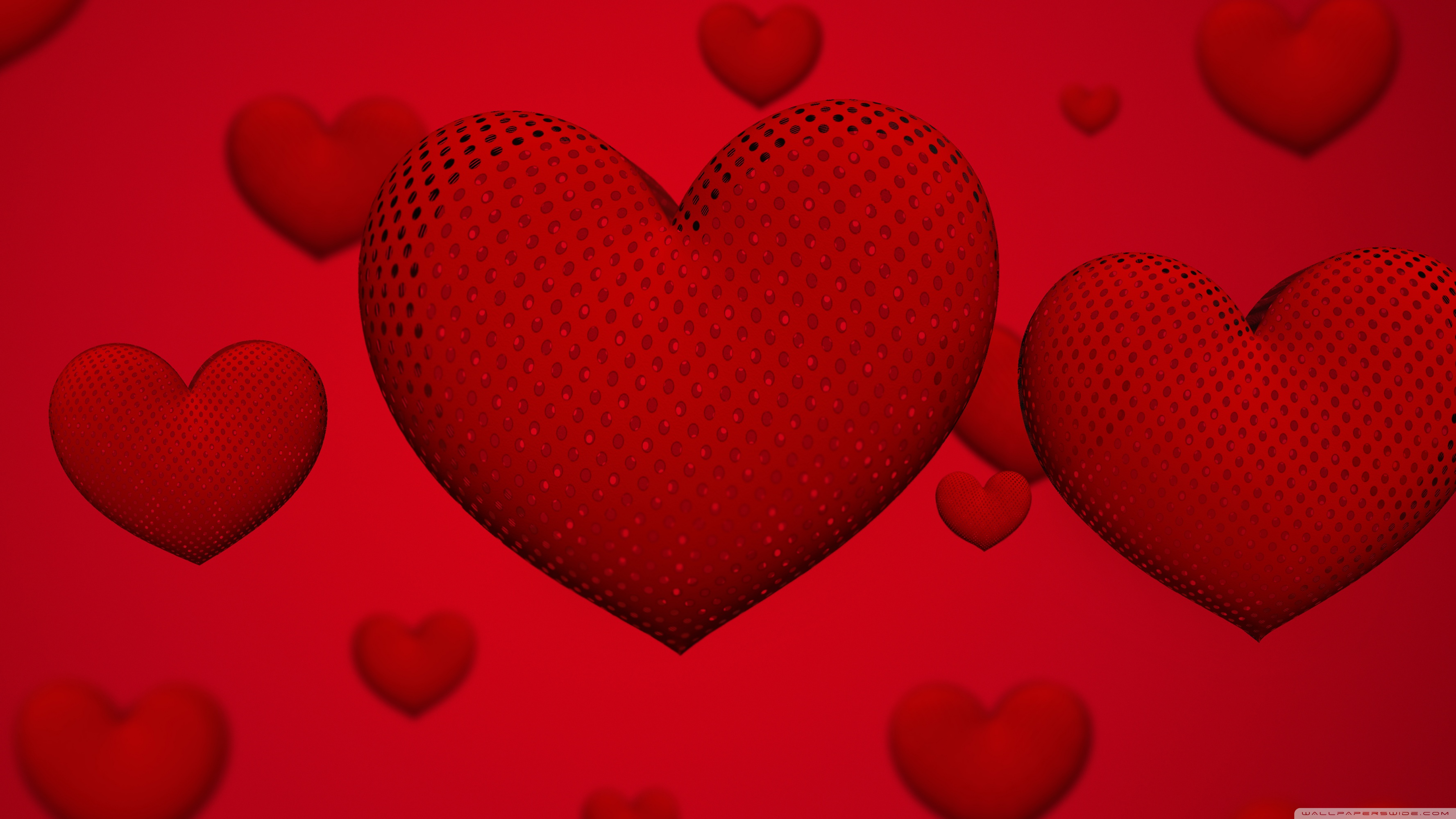 Valentine's Day Hearts Ultra HD Desktop Backgrounds Wallpapers for