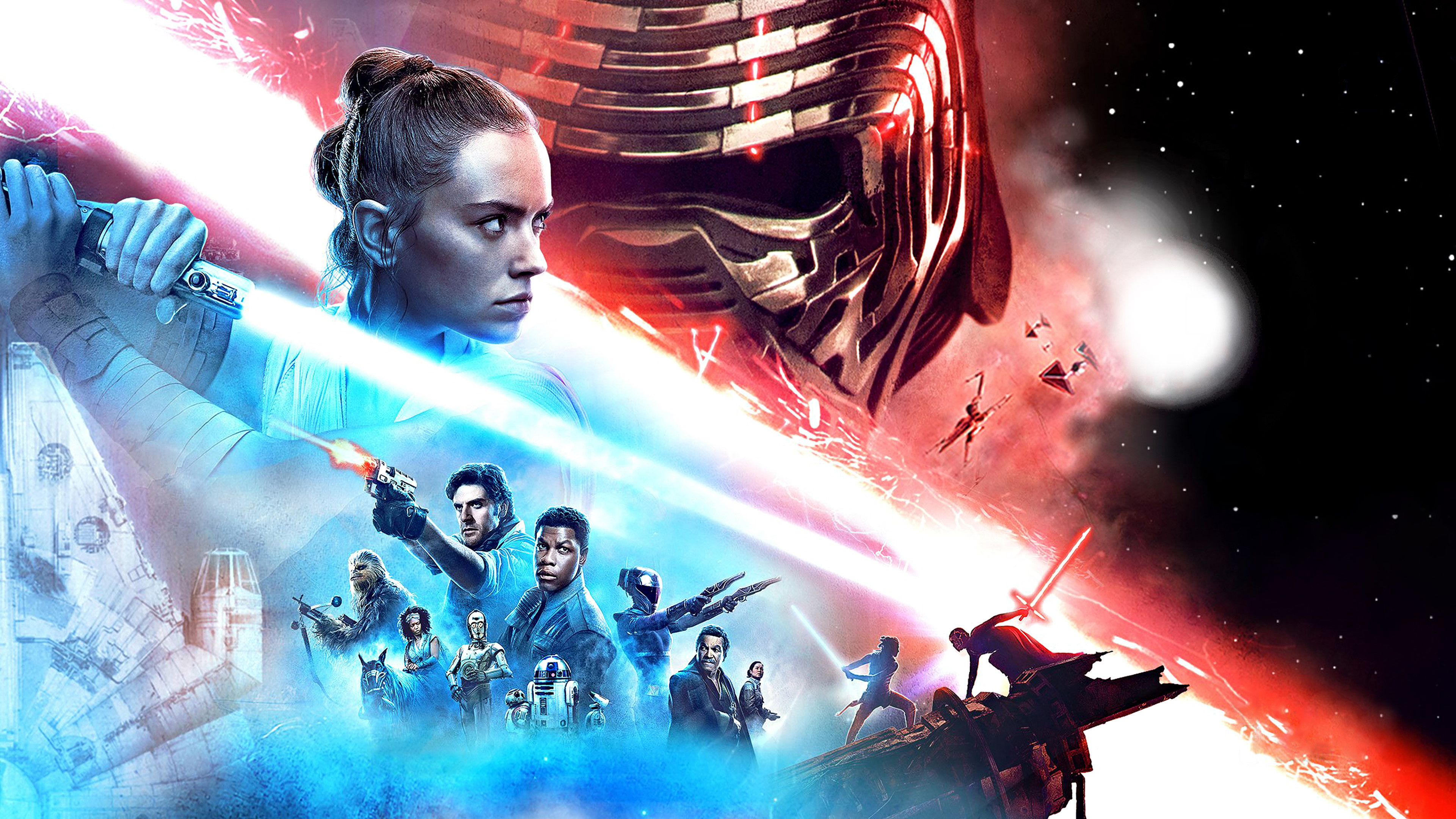 Download wallpaper: Episode IX Star Wars: The Rise of