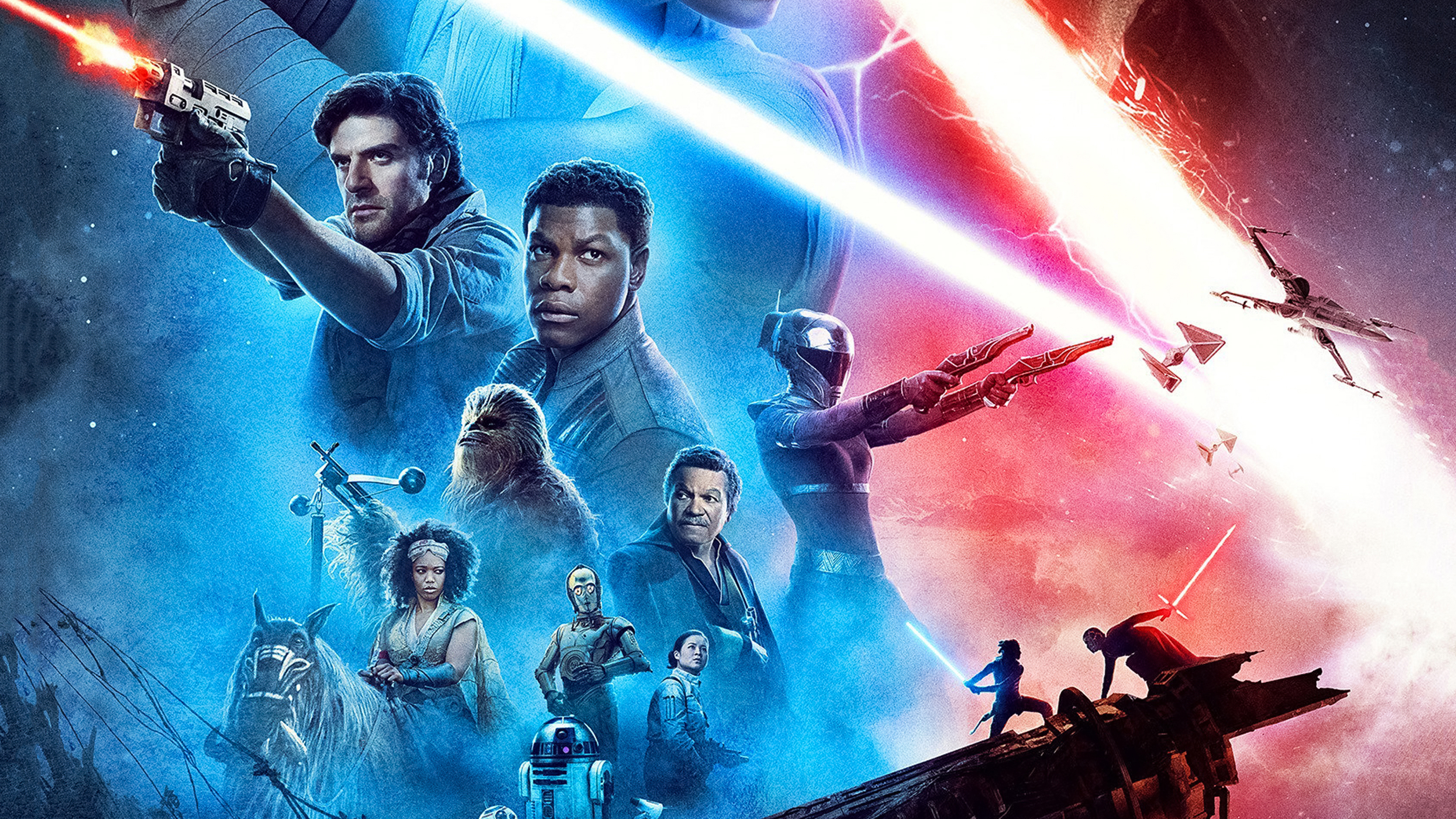 Star Wars The Rise Of Skywalker New Poster 4k, HD Movies, 4k